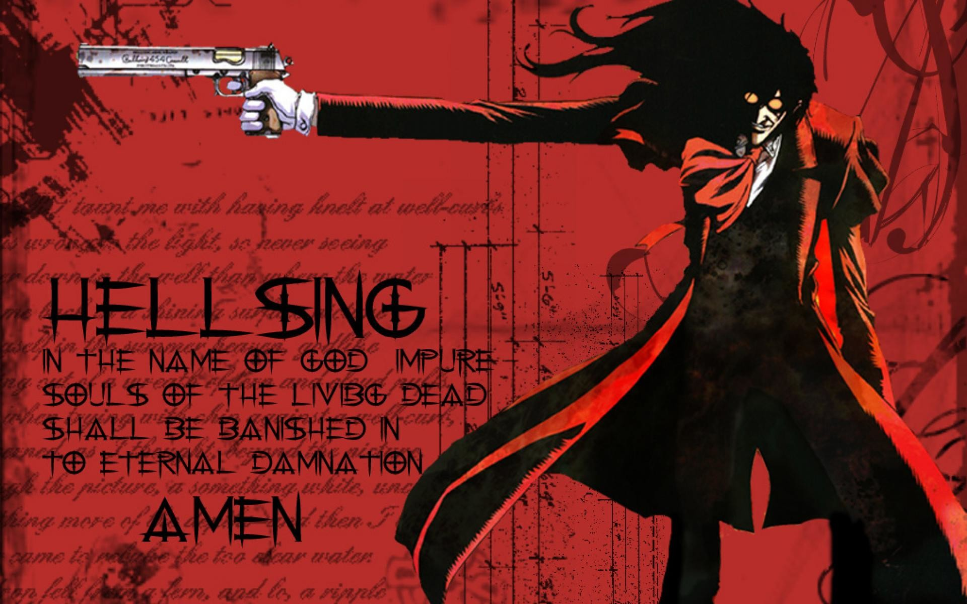 Hellsing Alucard Huge Poster 4