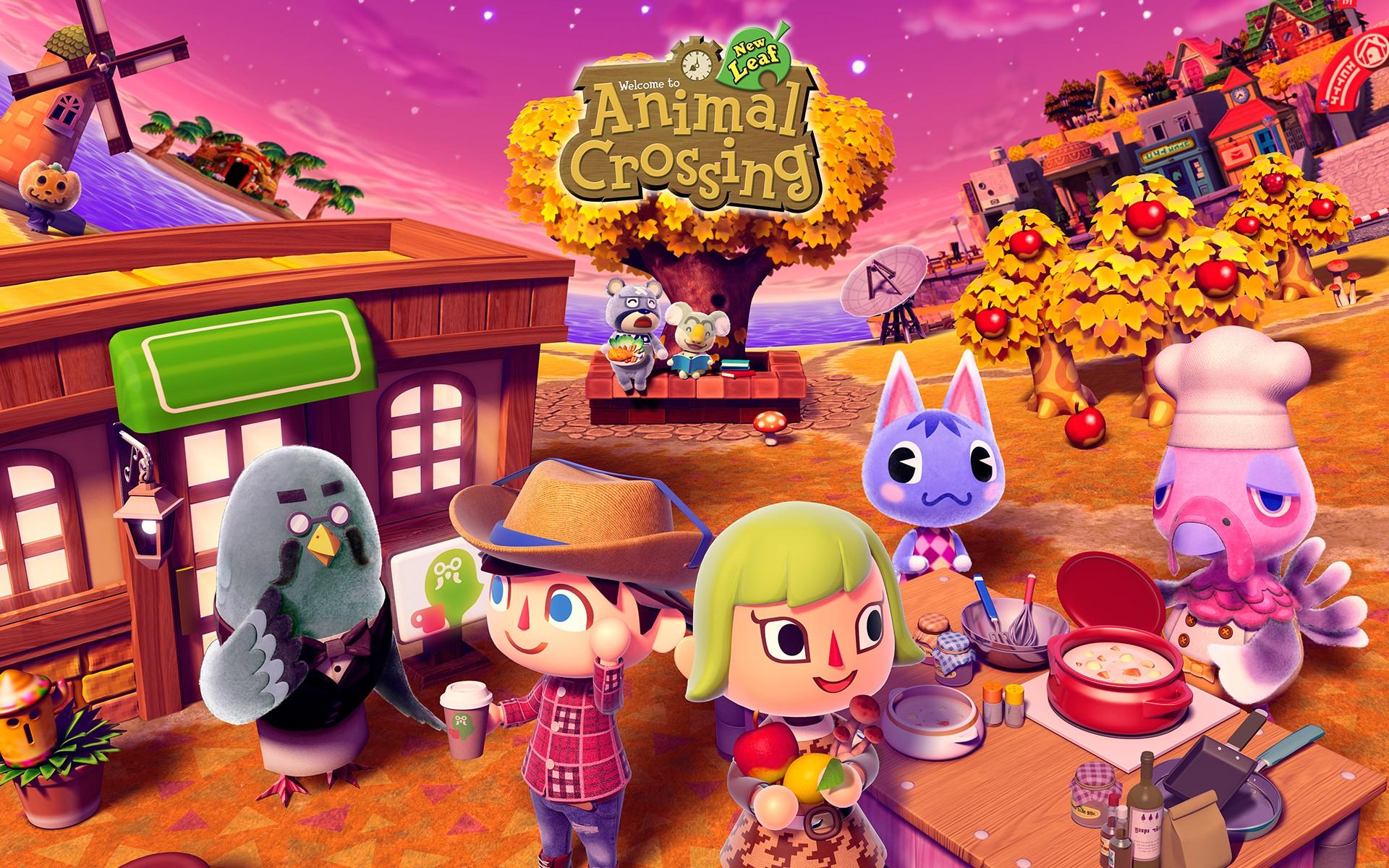 Animal Crossing Wallpaper Download Free Stunning Hd