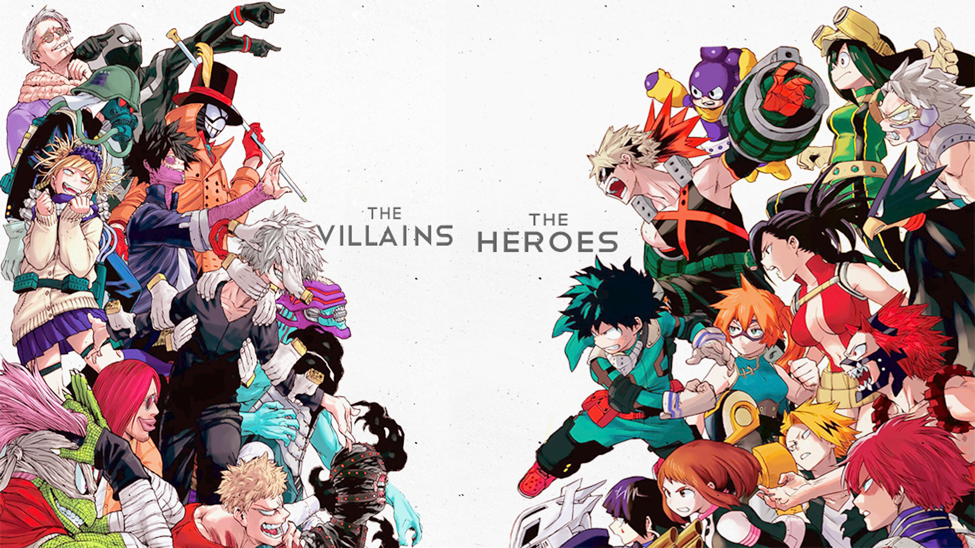 Boku No Hero Academia Wallpapers Wallpapertag