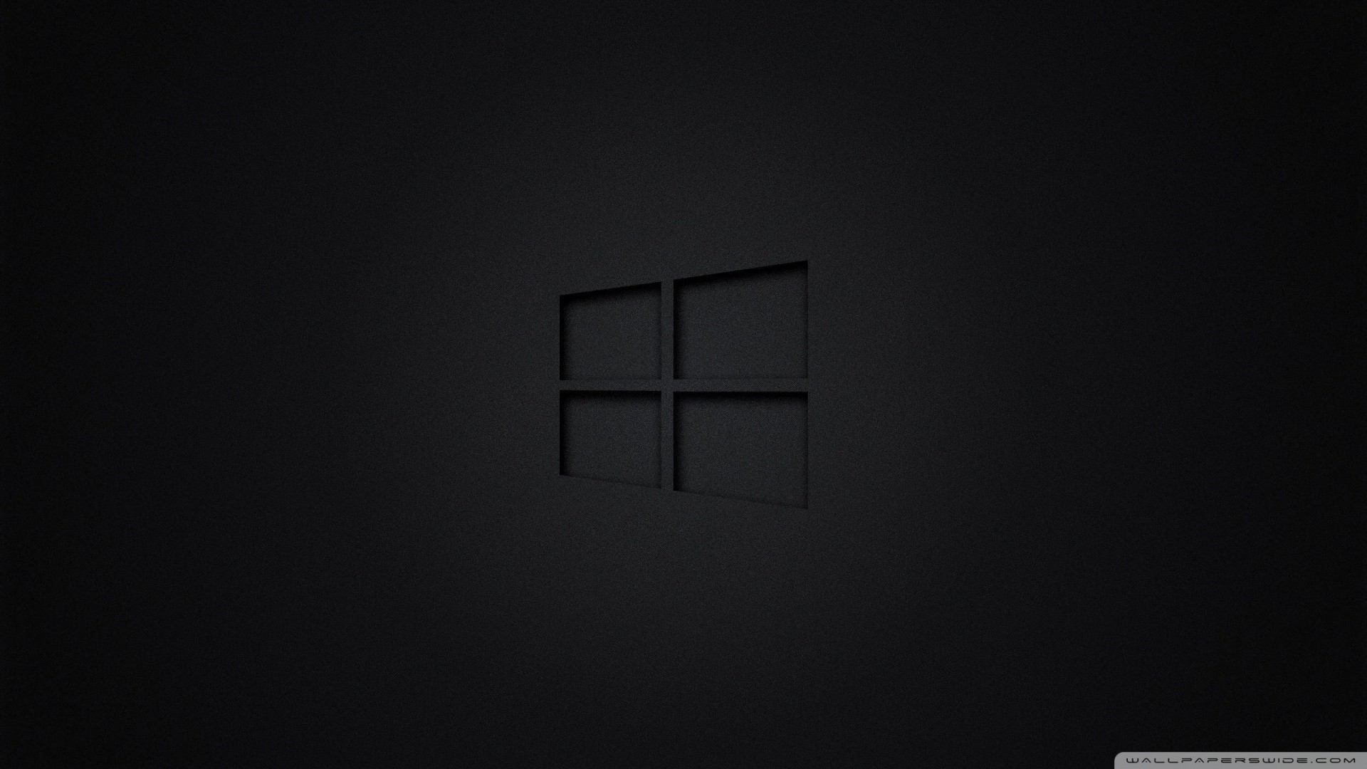 windows black wallpaper ·①