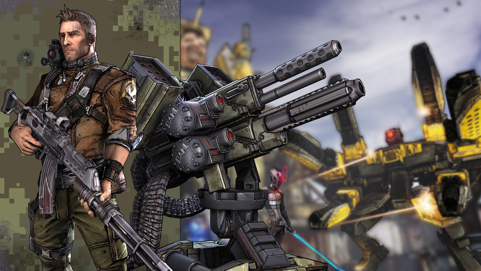 borderlands 2 wallpaper axton - photo #1