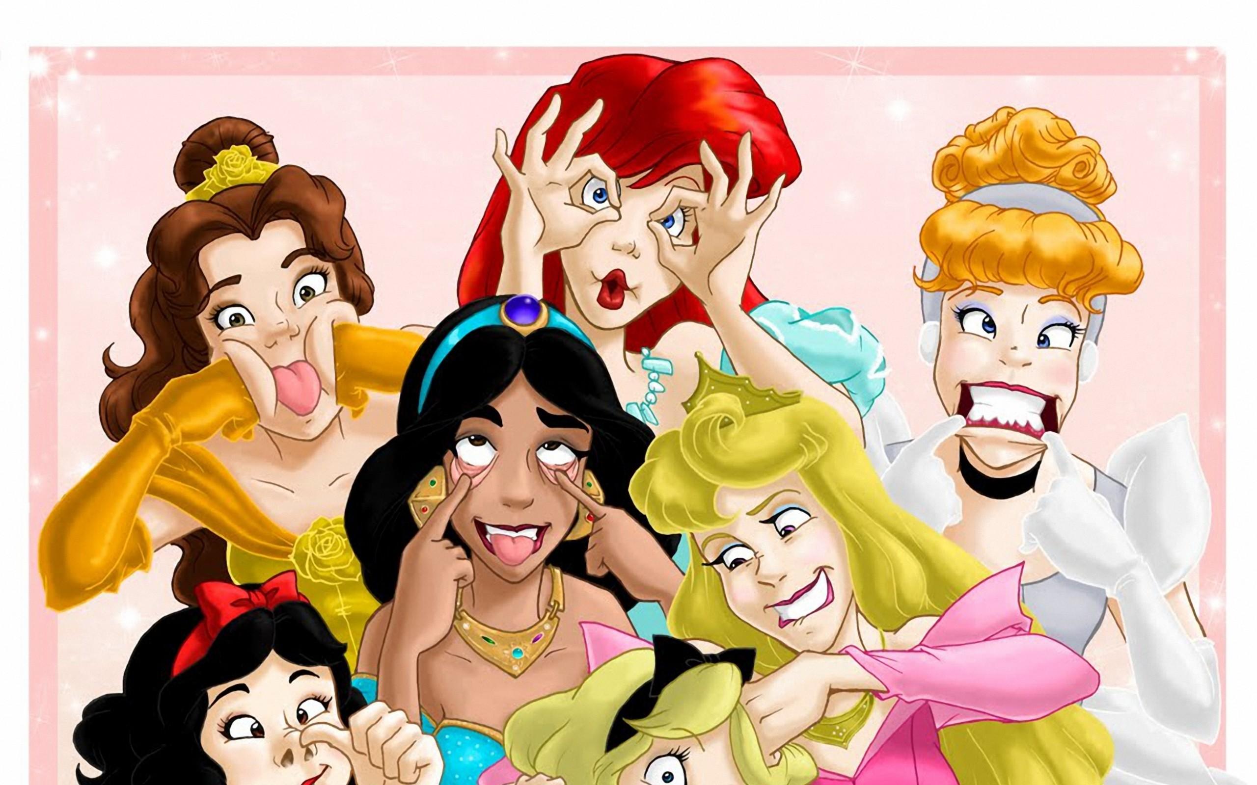 Картинки смешные с принцессами