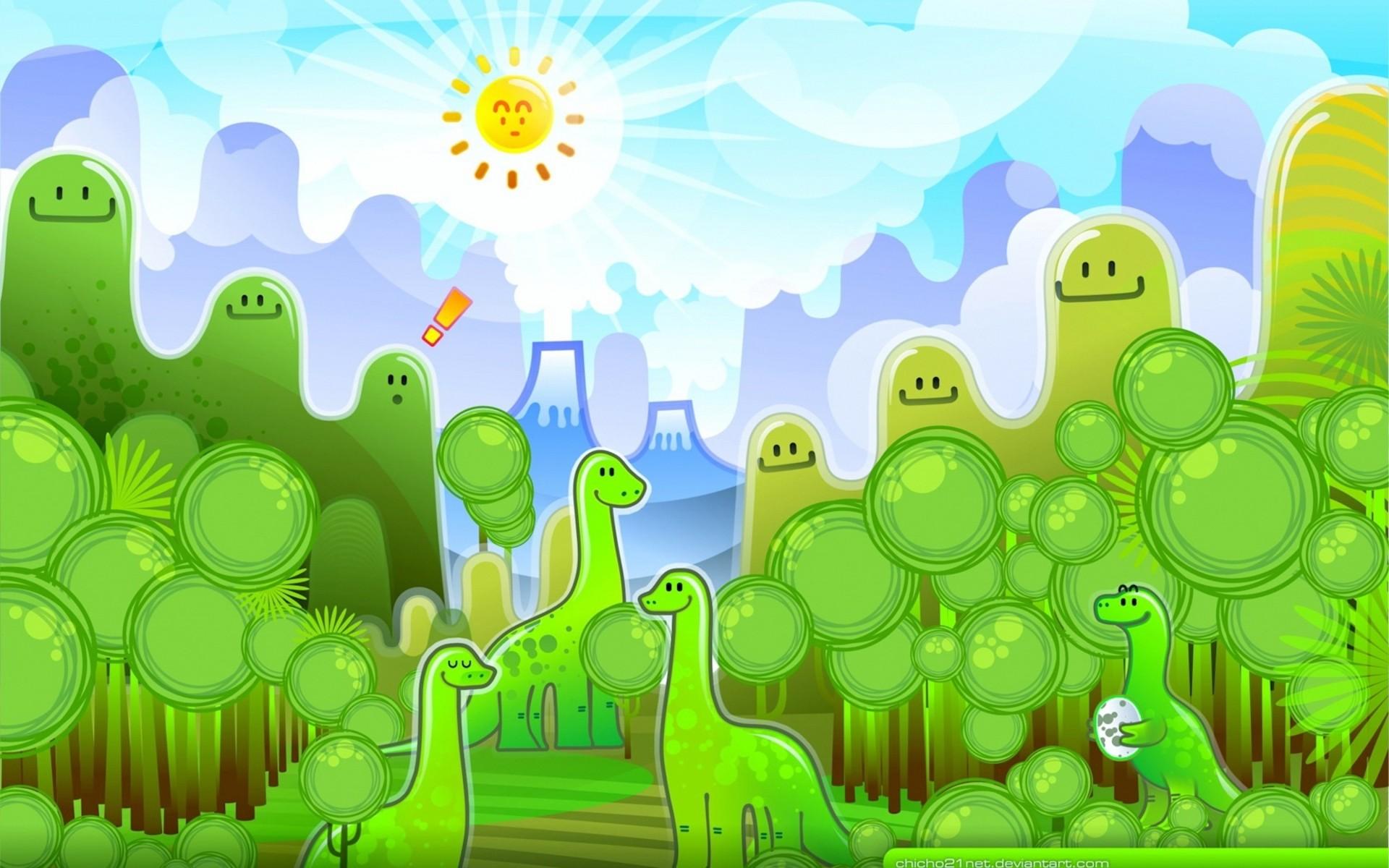 Cute Dinosaur Backgrounds ·① WallpaperTag