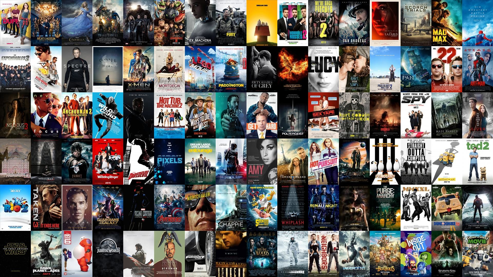 Movie posters wallpapers 1920x1080 2015 2014 movie poster wallpaper oc voltagebd Image collections