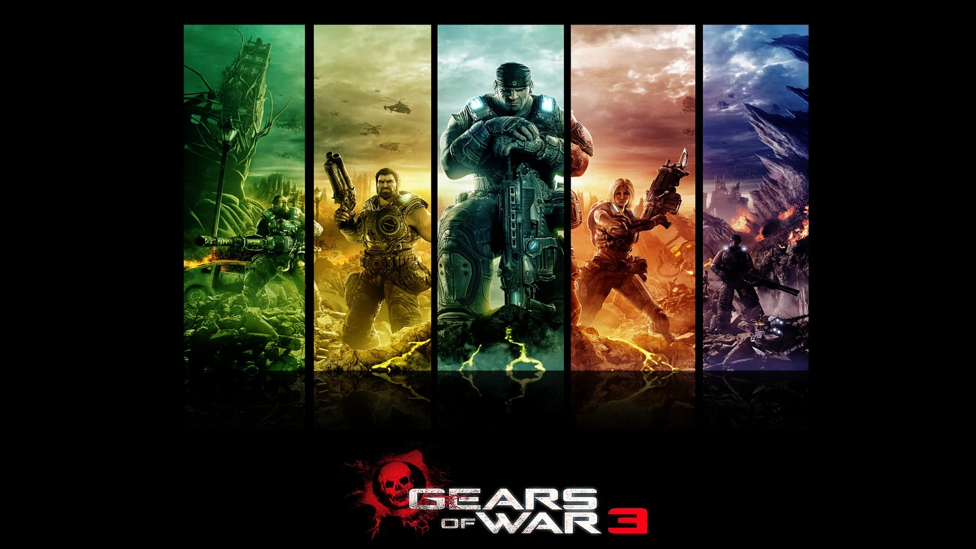 Gears Of War Wallpaper Hd Wallpapertag