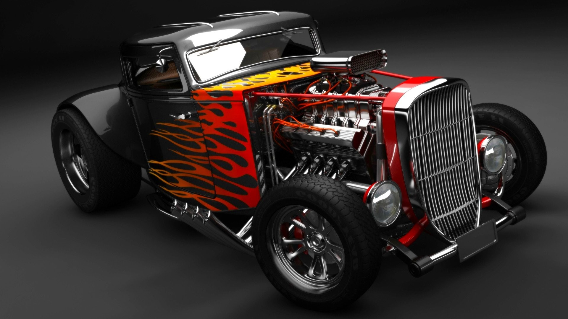 Hot Rod Wallpapers 183 ①