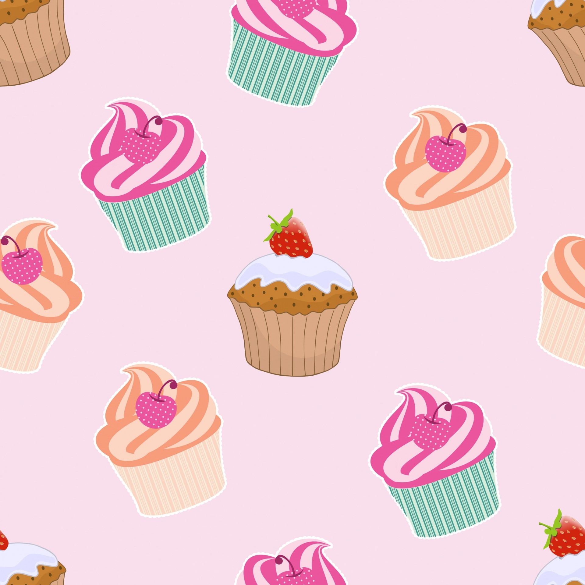 Cupcakes And Muffins Wallpaper Download Widescreen