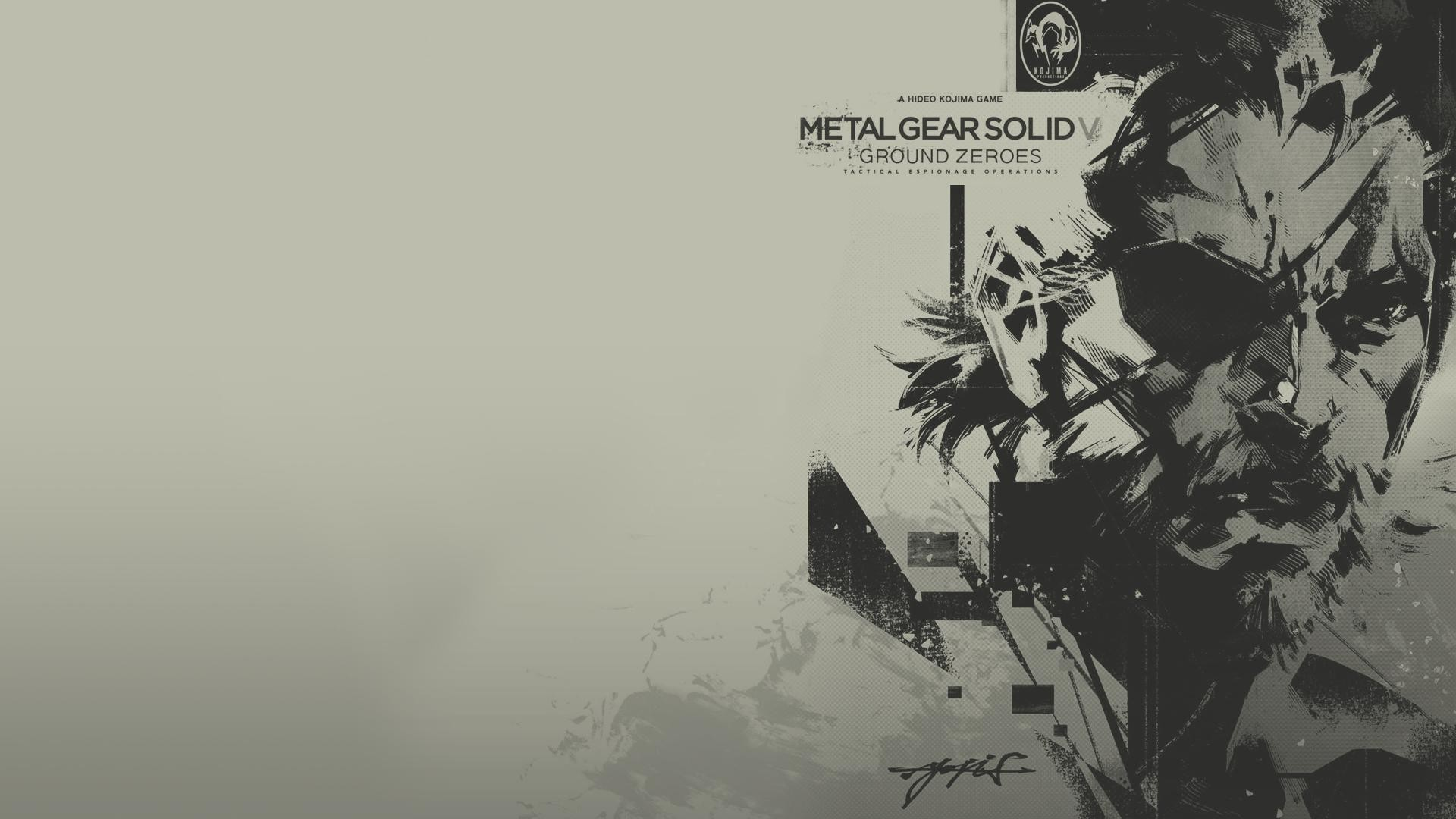 Metal Gear Solid Wallpaper HD ·①
