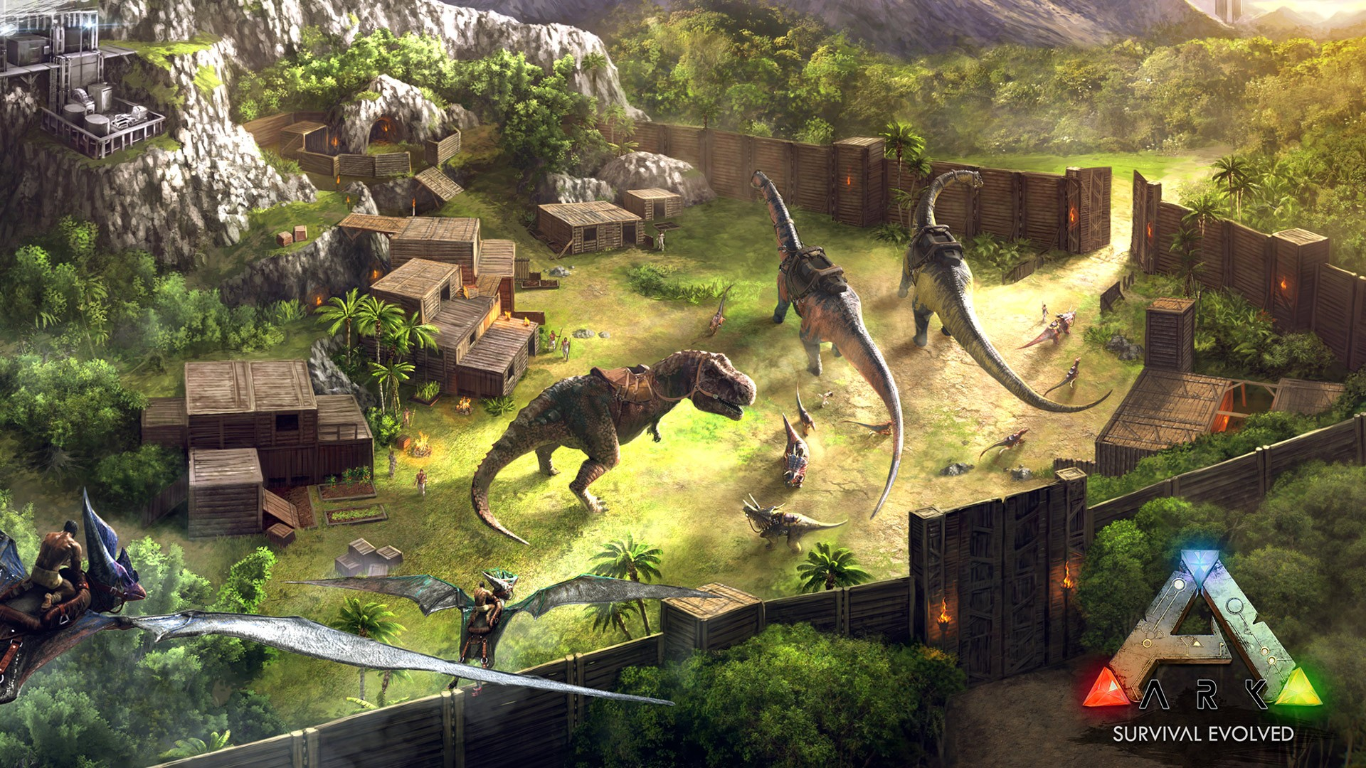 Ark Survival Evolved Wallpaper Download Free Awesome
