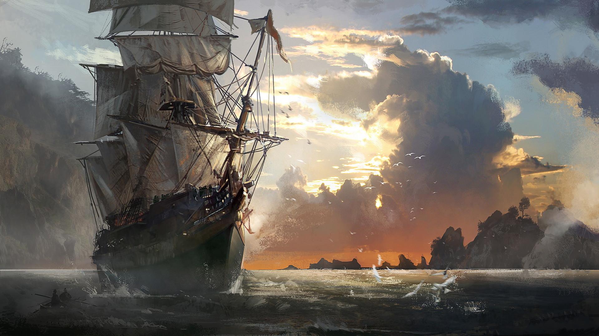ghost ship wallpaper 183��