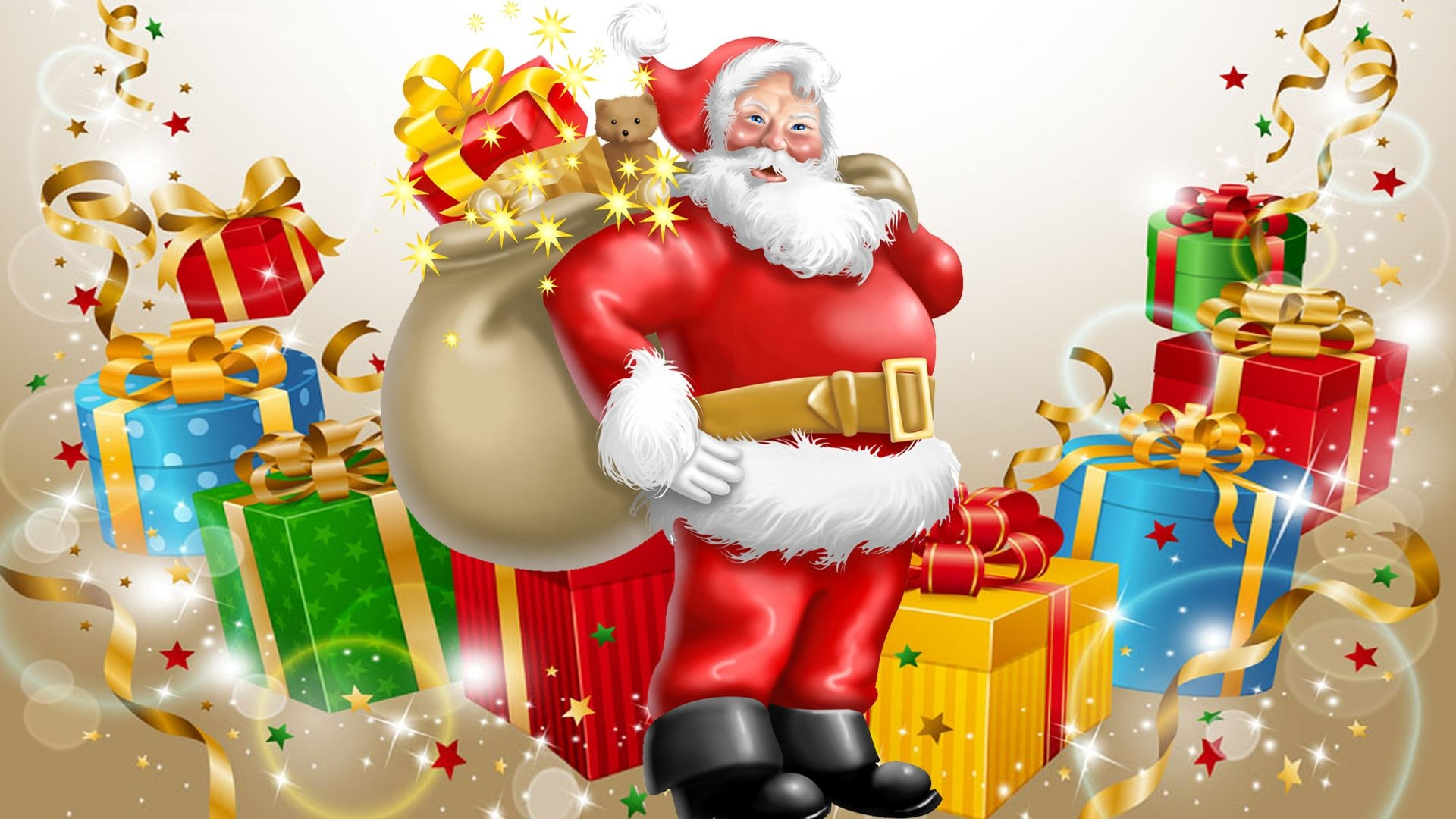 Santa Claus Desktop Wallpaper ·① WallpaperTag