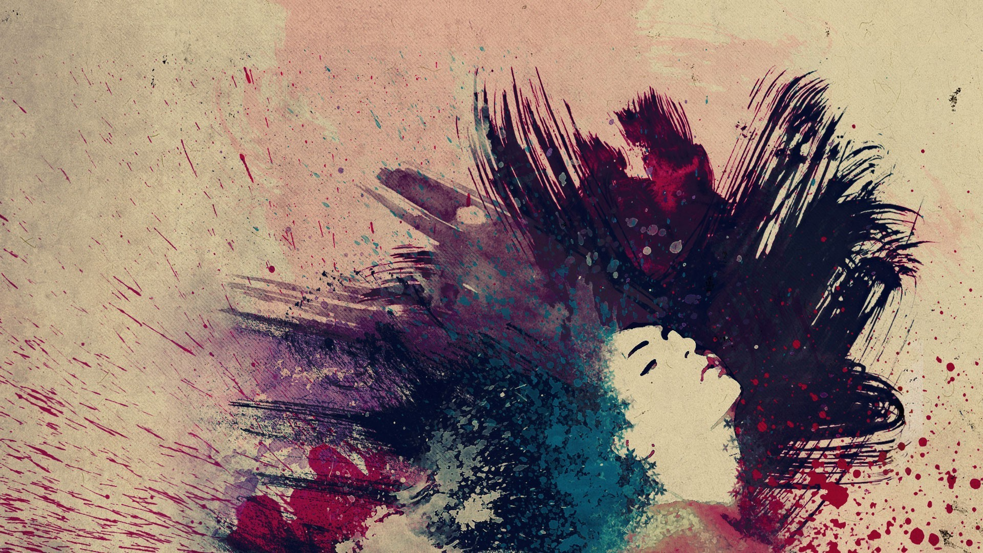 Paint Splatter Wallpapers ·â'