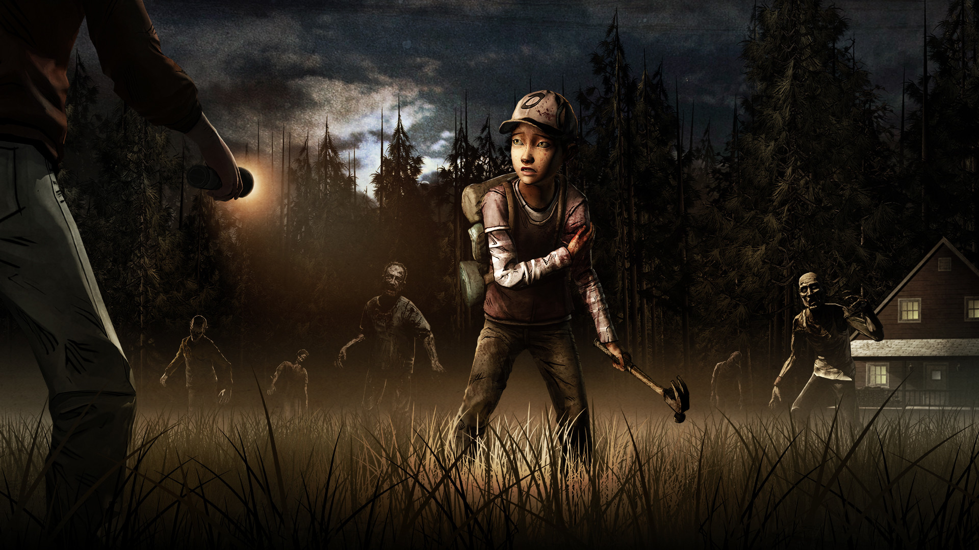 The Walking Dead Game Wallpaper 1