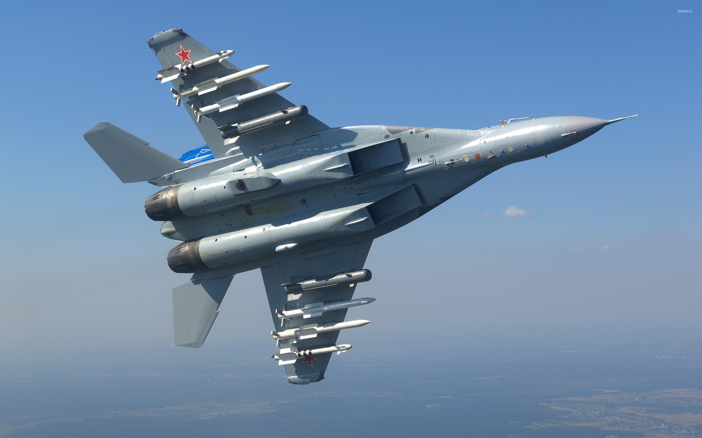самолет ВВС РФ МиГ-35 Микоян  № 3741489 без смс