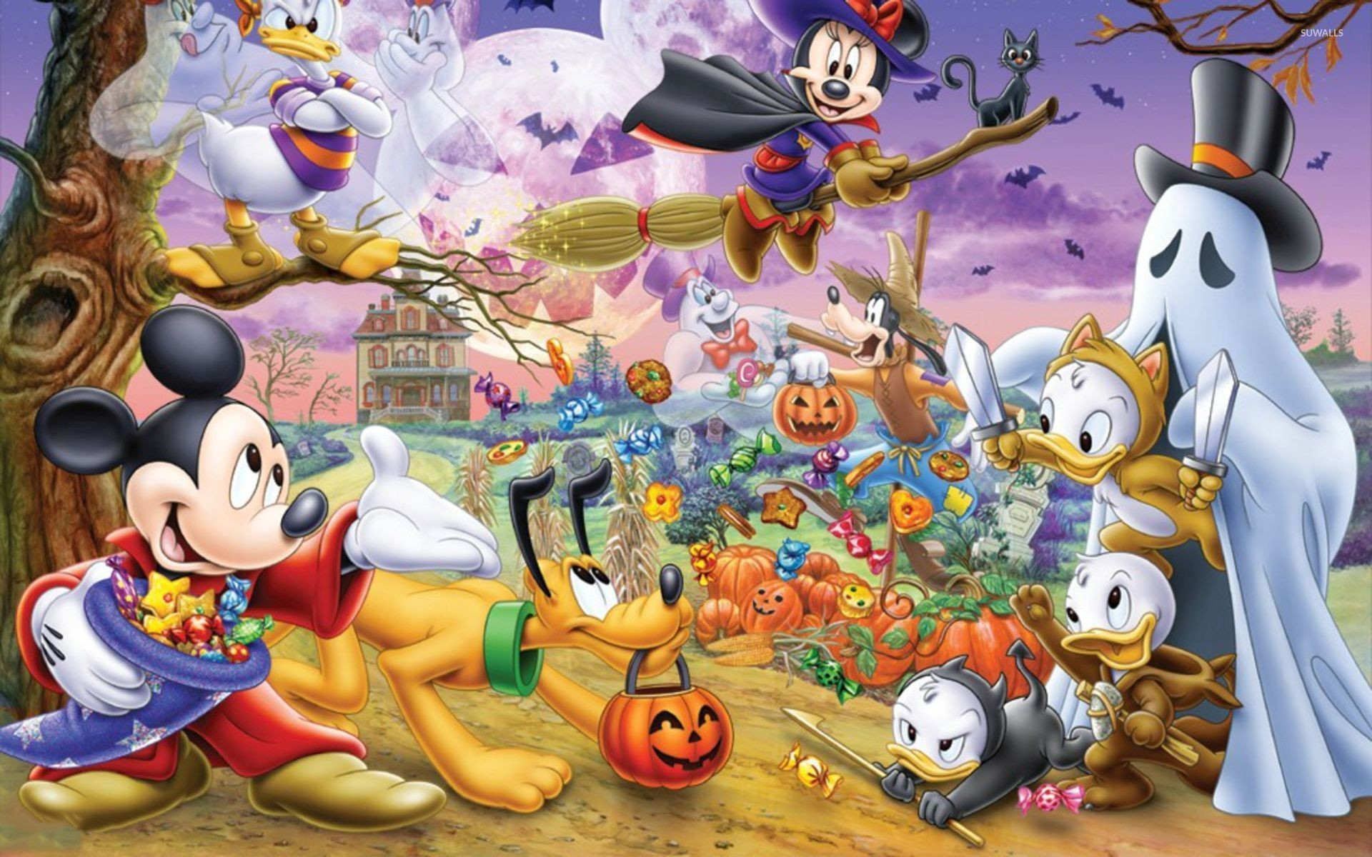 Disney Halloween Wallpaper Backgrounds ·① WallpaperTag