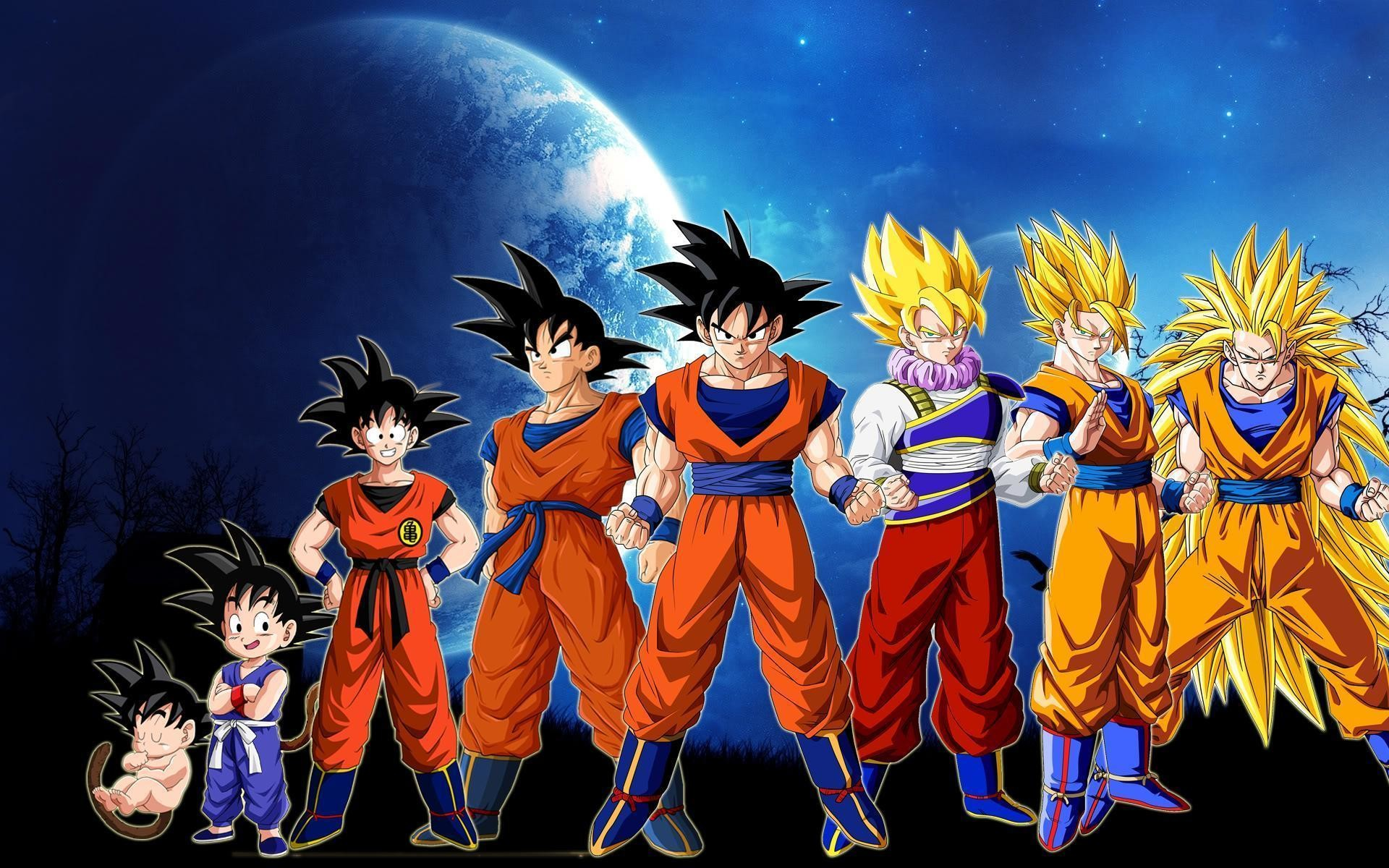 Dbz Goku Wallpapers Wallpapertag