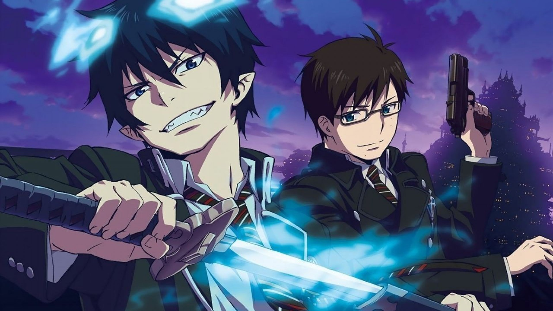 Blue exorcist wallpaper download free amazing - Blue exorcist wallpaper ...