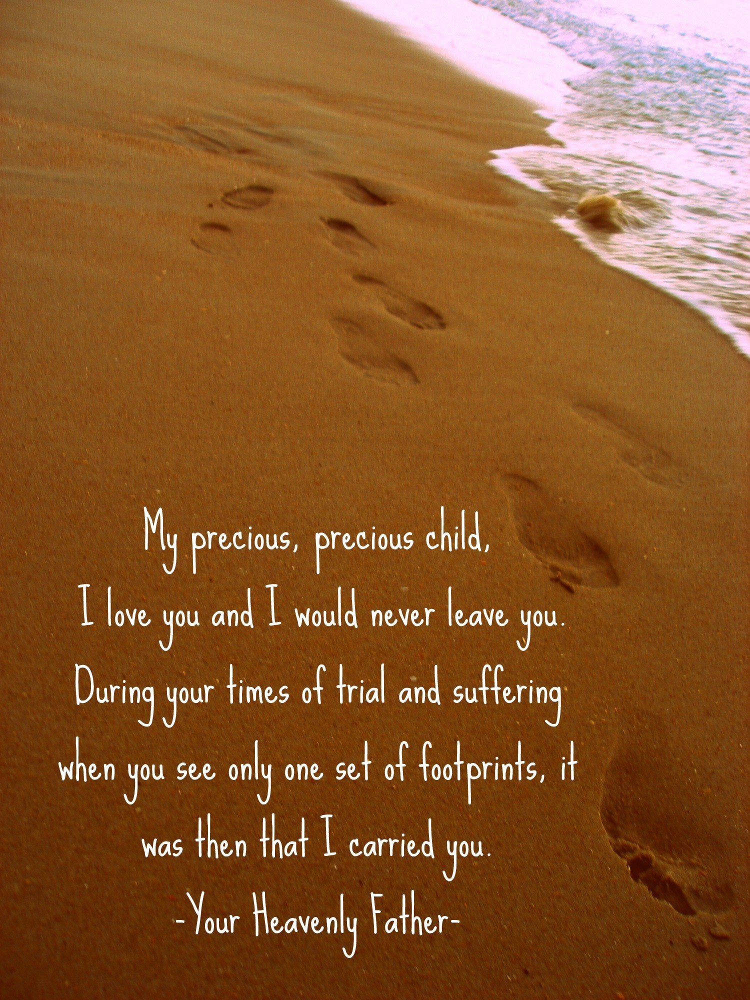 Footprints in the Sand Wallpaper ·① WallpaperTag