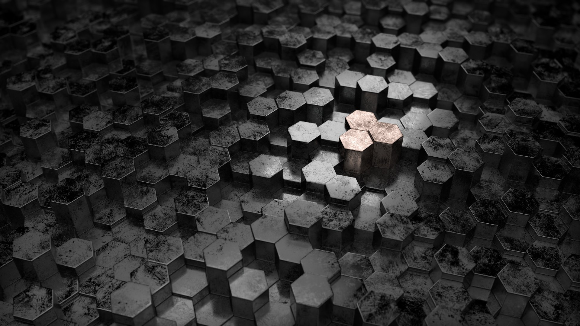 Hexagon Background ·① Download Free Backgrounds For
