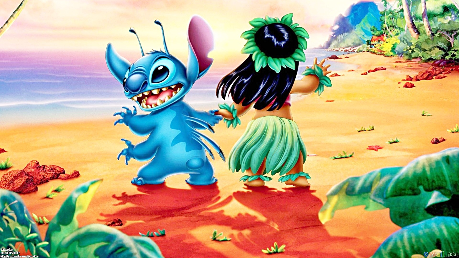 Lilo And Stitch Wallpaper Download Free Beautiful Backgrounds