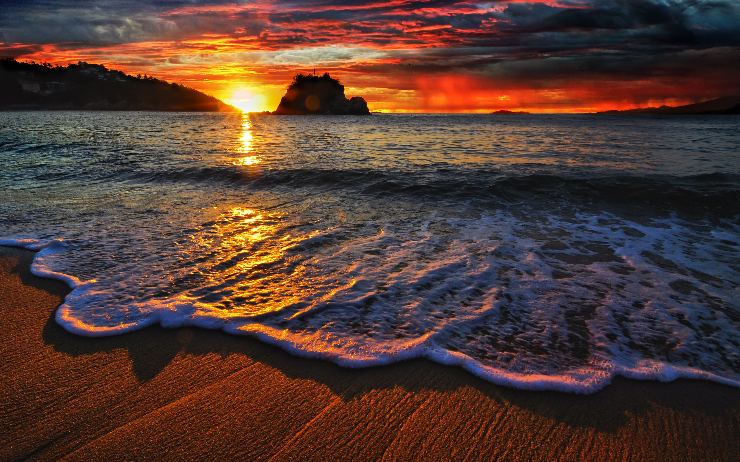 beautiful sunset wallpapers ·①