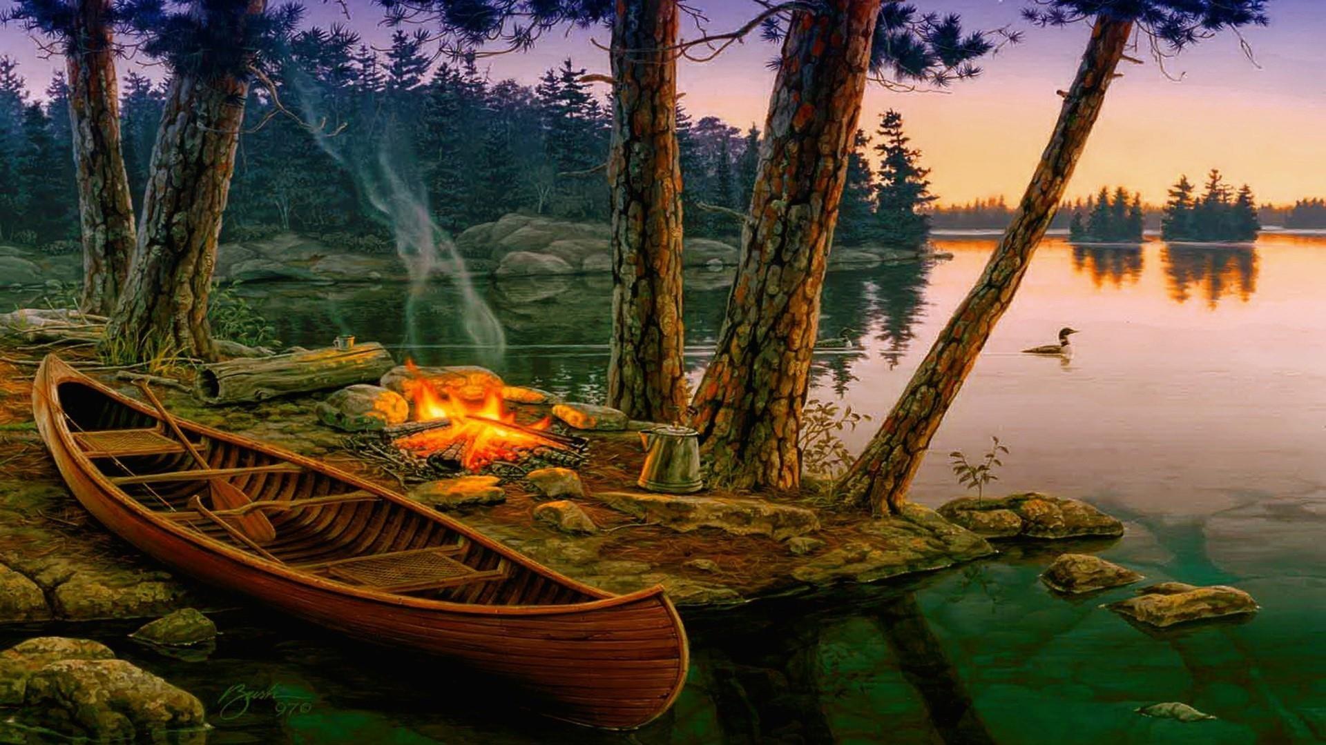 Campfire Wallpaper ·① WallpaperTag