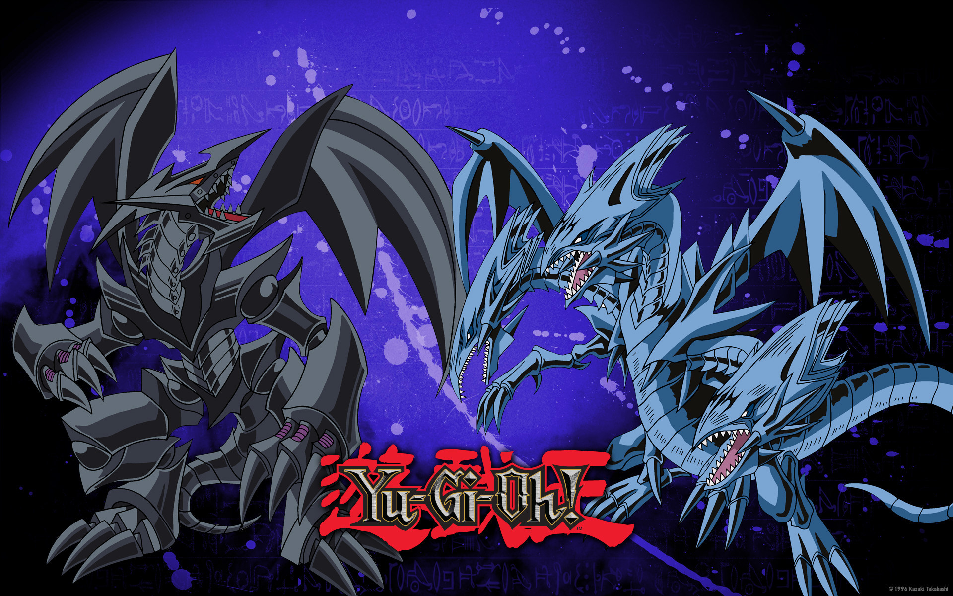Red Eyes Black Dragon Vs Blue Eyes White Dragon Wallpaper
