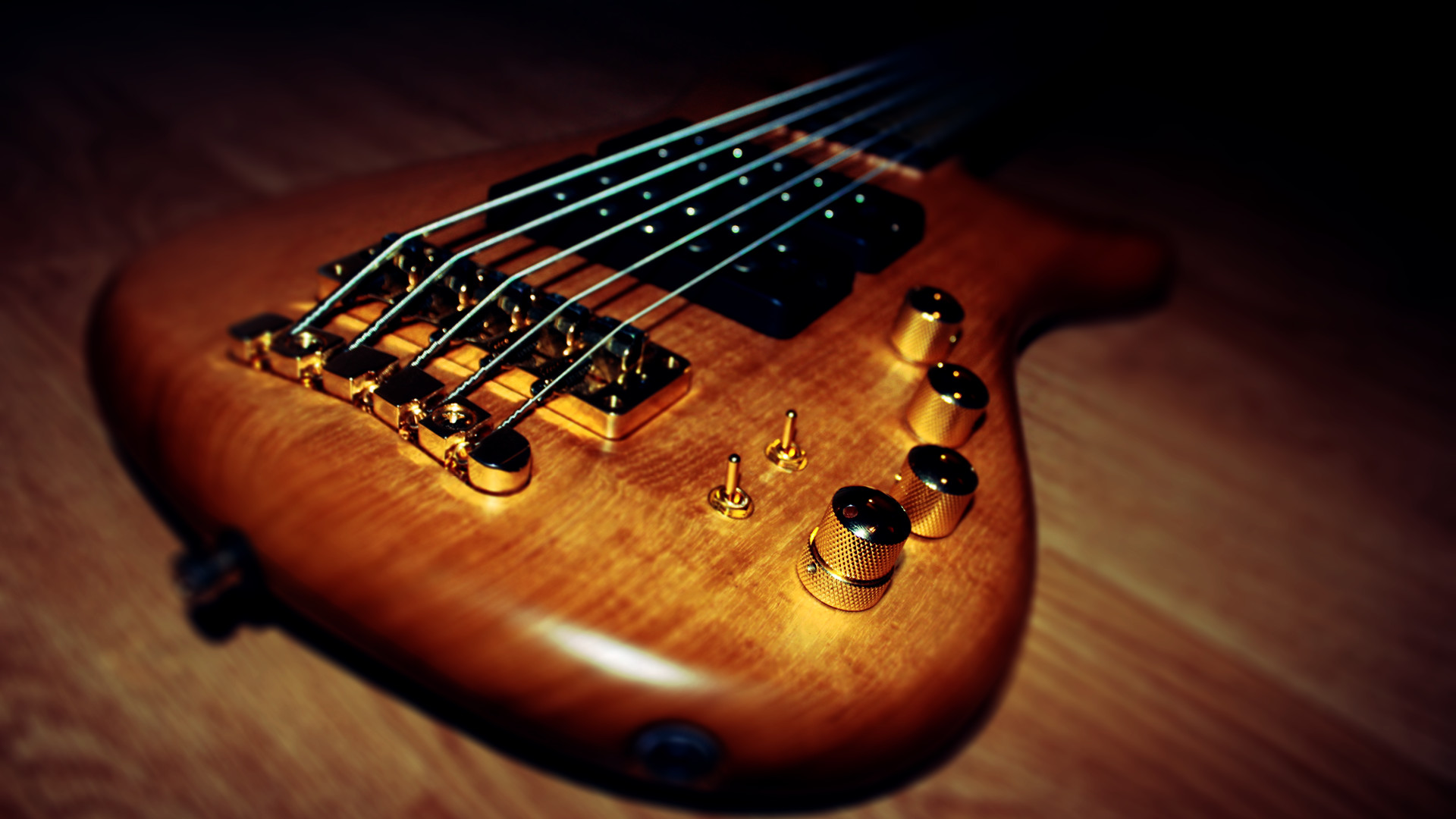 Hd Bass Guitar Wallpaper: 5 String Bass Guitar Wallpaper ·①