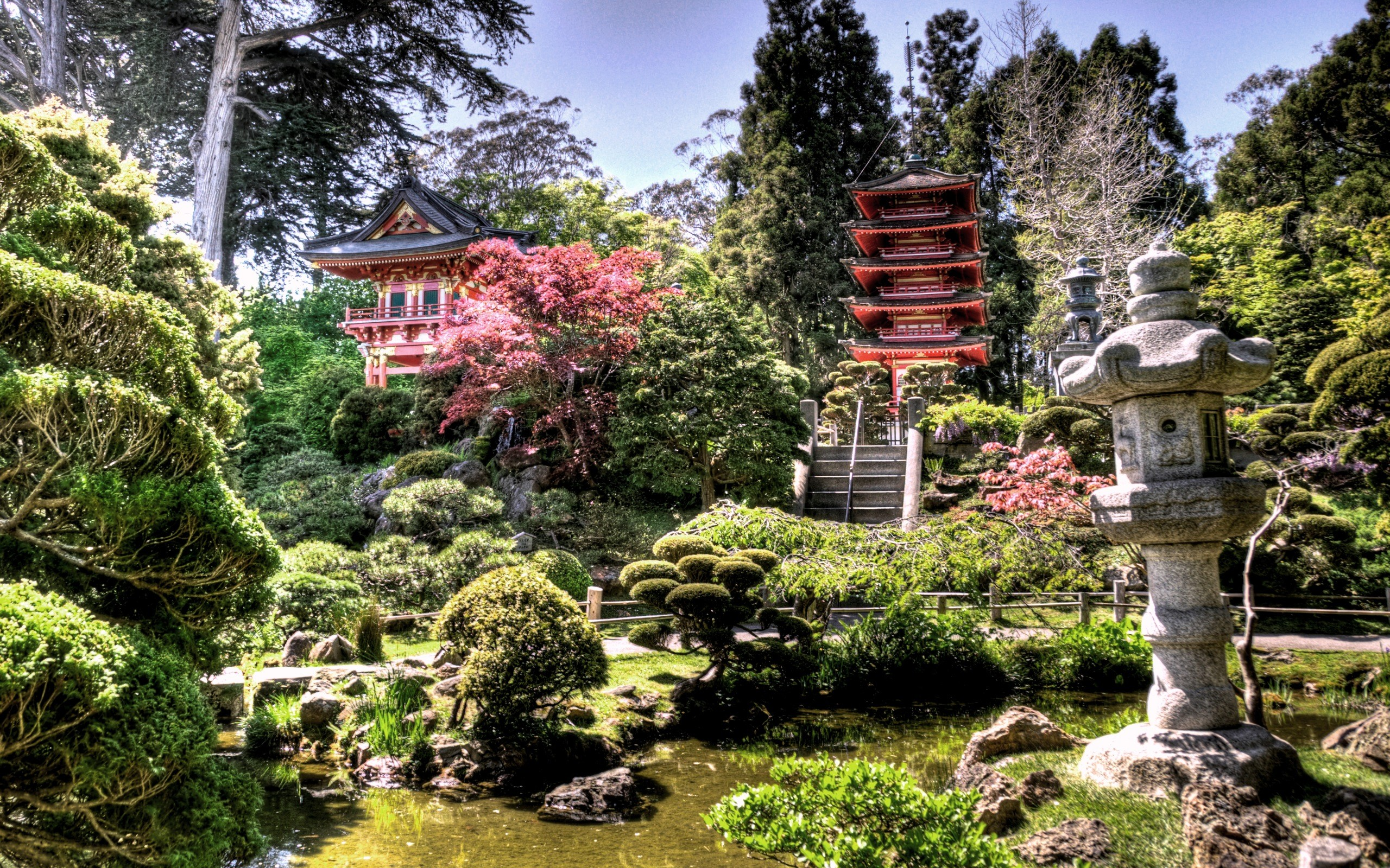Japanese Garden Wallpapers: Japanese Garden Desktop Wallpaper ·① WallpaperTag
