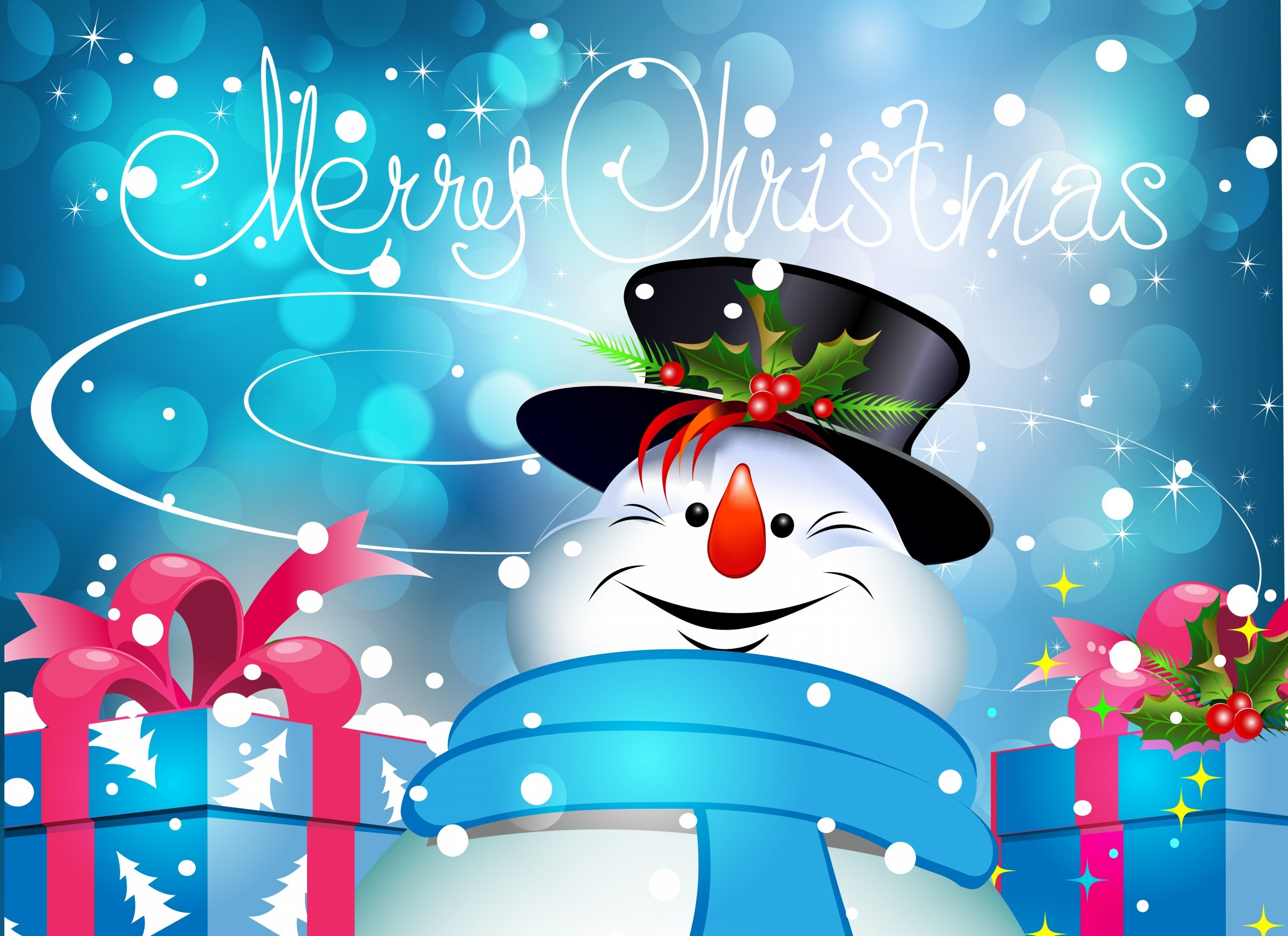 christmas wallpaper for desktop ·①