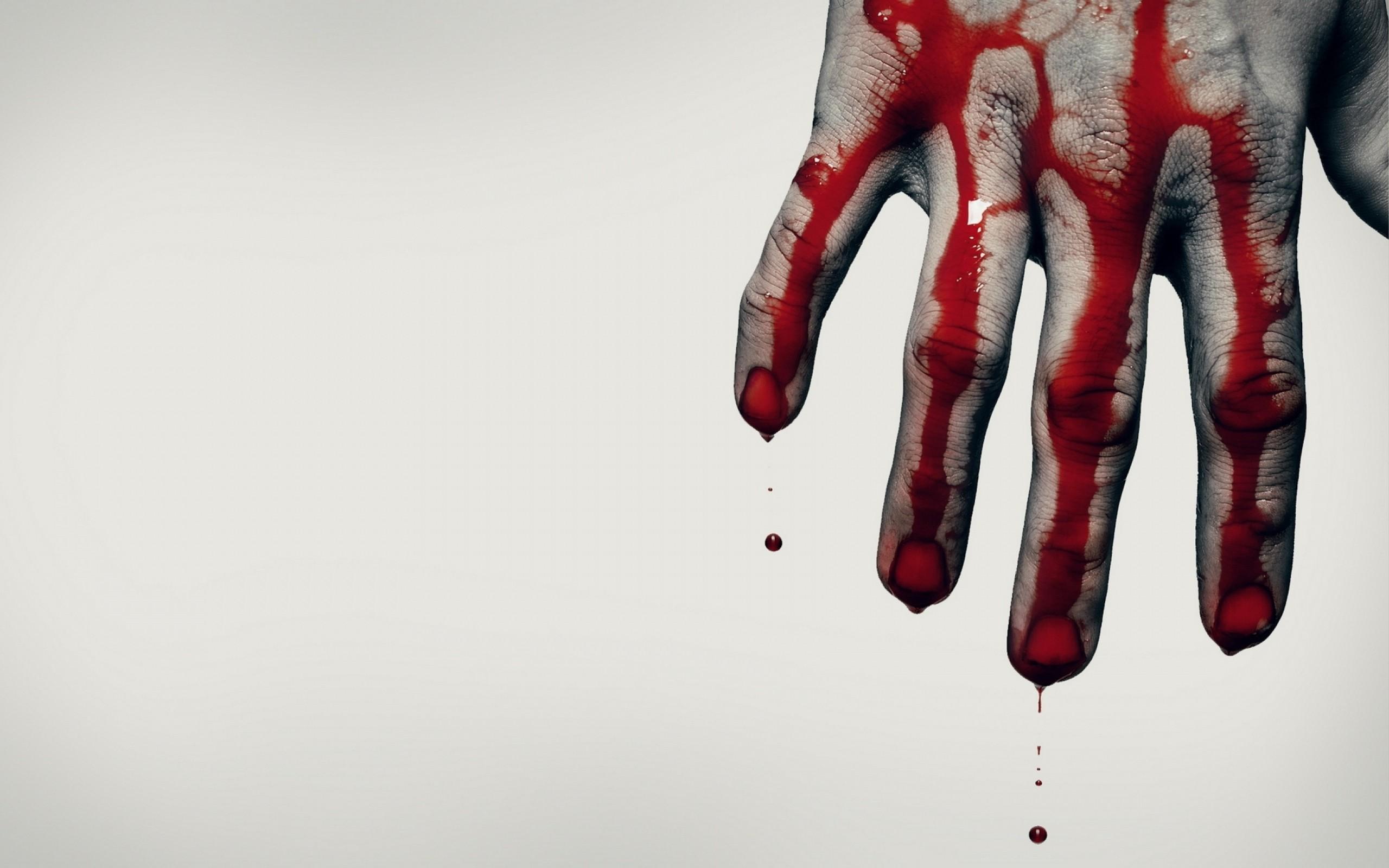 Bloody wallpaper ·...