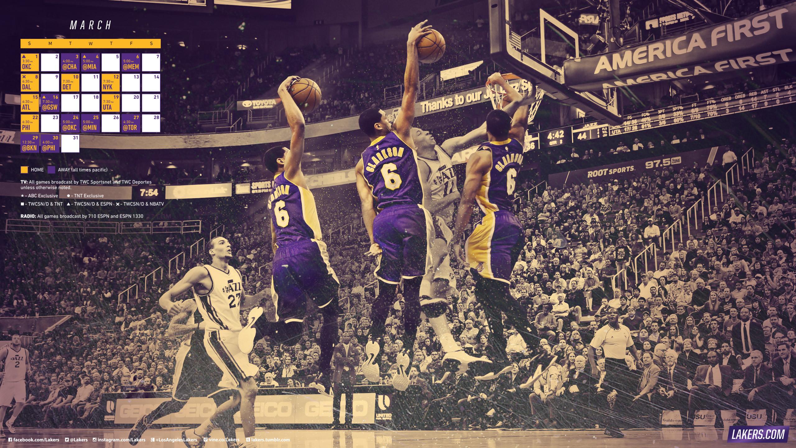 Los Angeles Lakers Wallpaper Wallpapertag