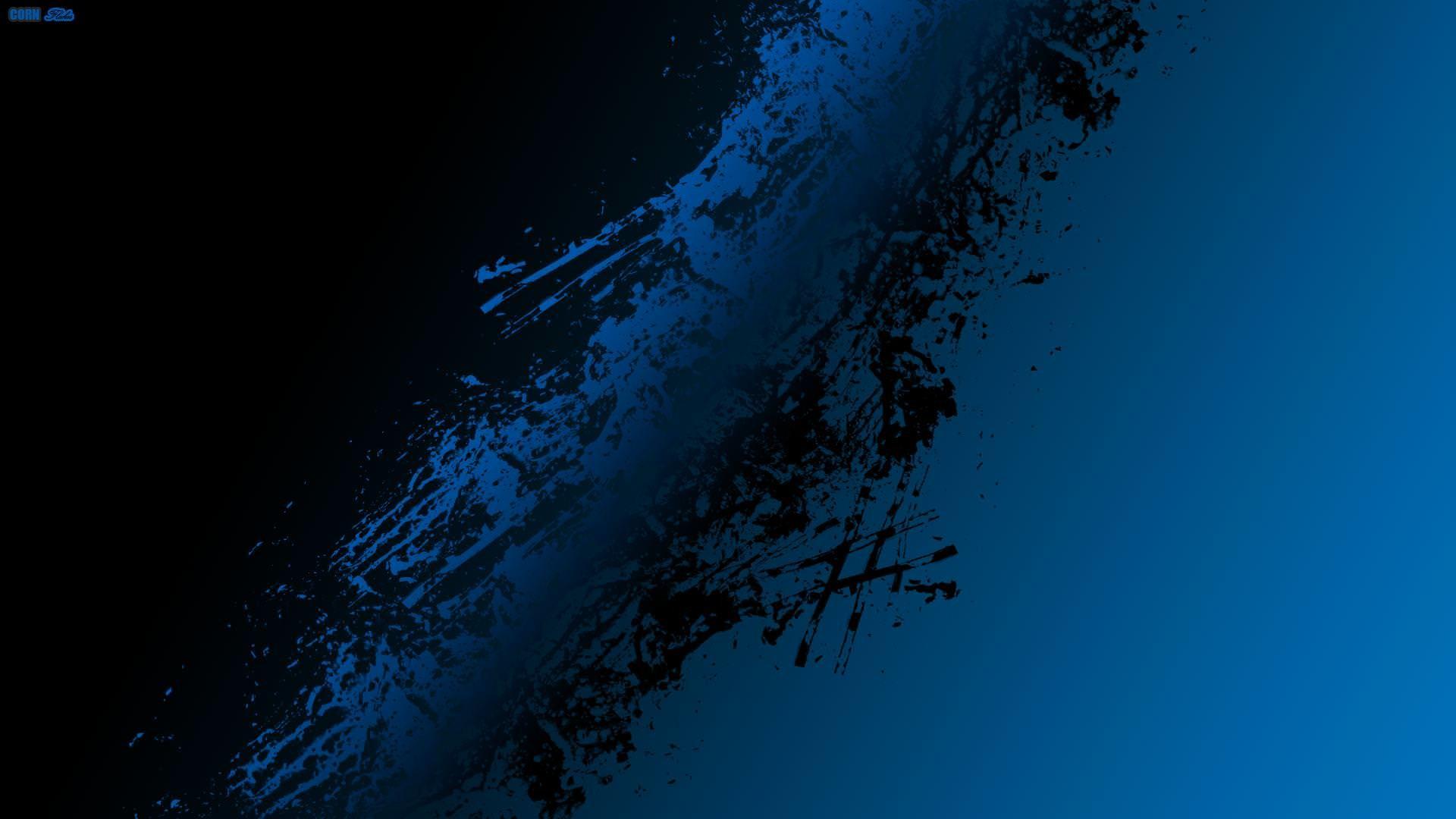 Black And Blue Abstract Wallpaper Wallpapertag