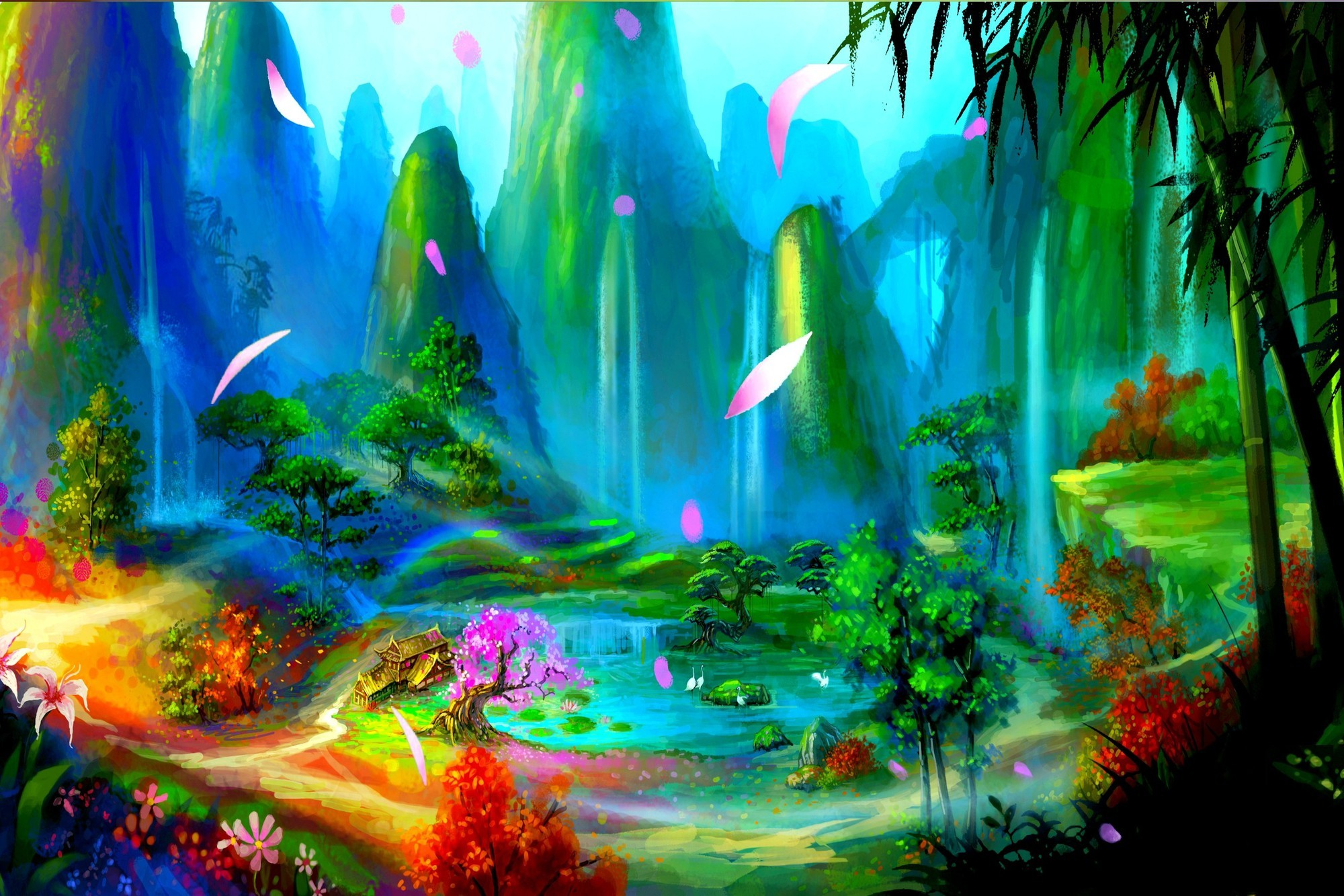получена картинки рая абстракция получатель