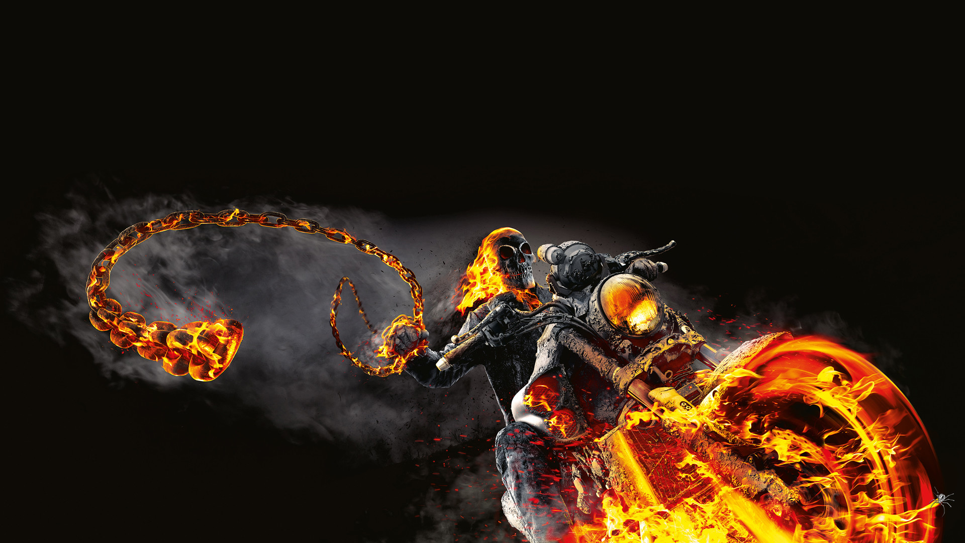 wallpaper ghost rider 2 ·①