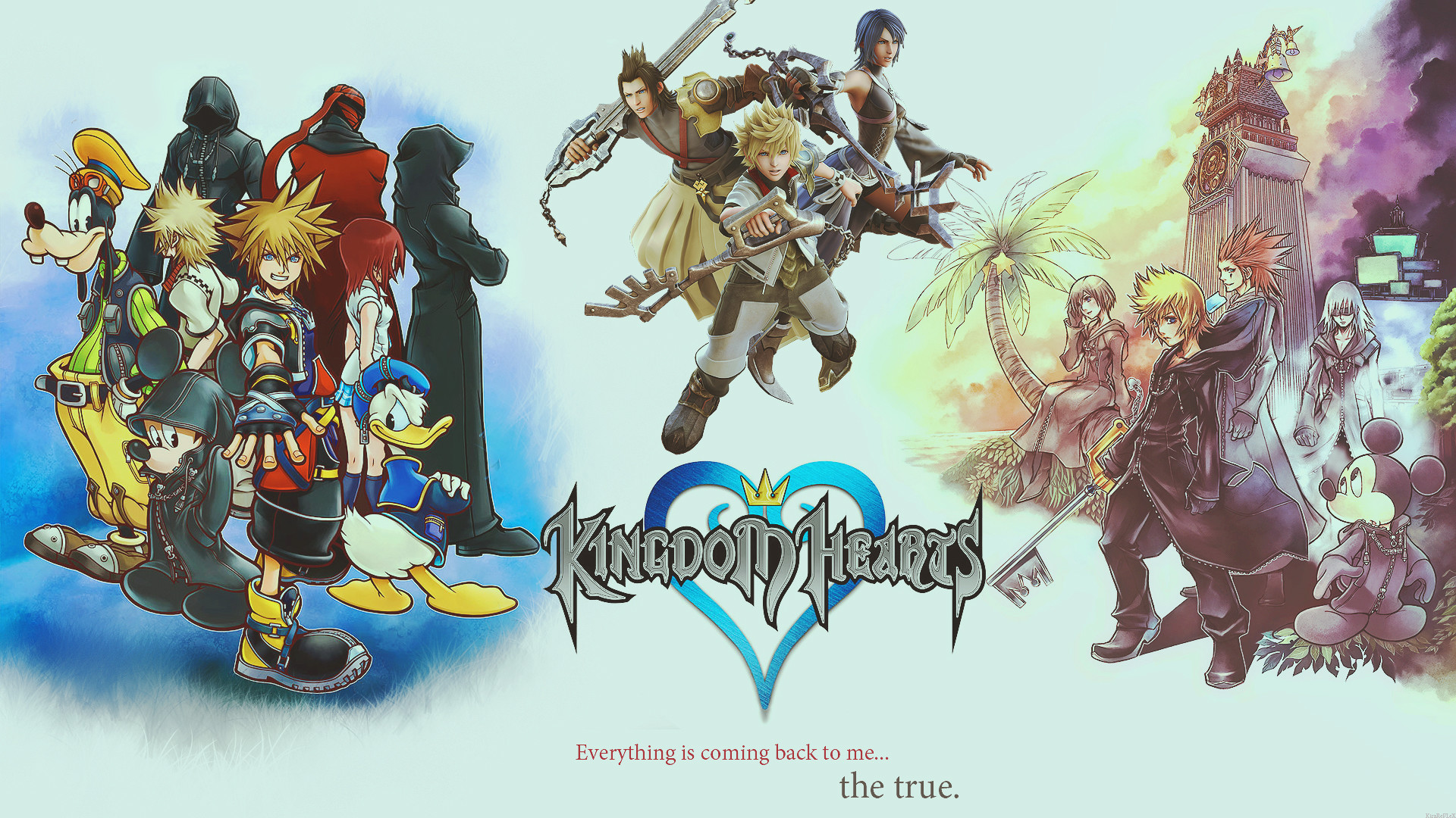Kingdom Hearts Sora Wallpaper ·①