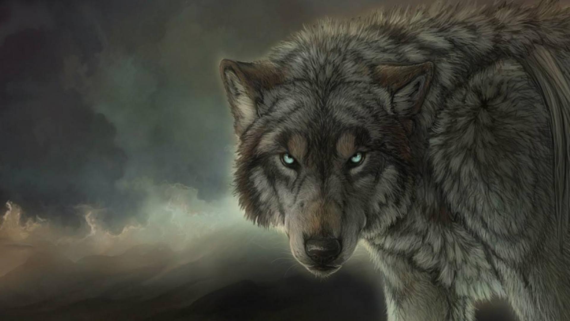 free Artwork Wolves wallpaper ...