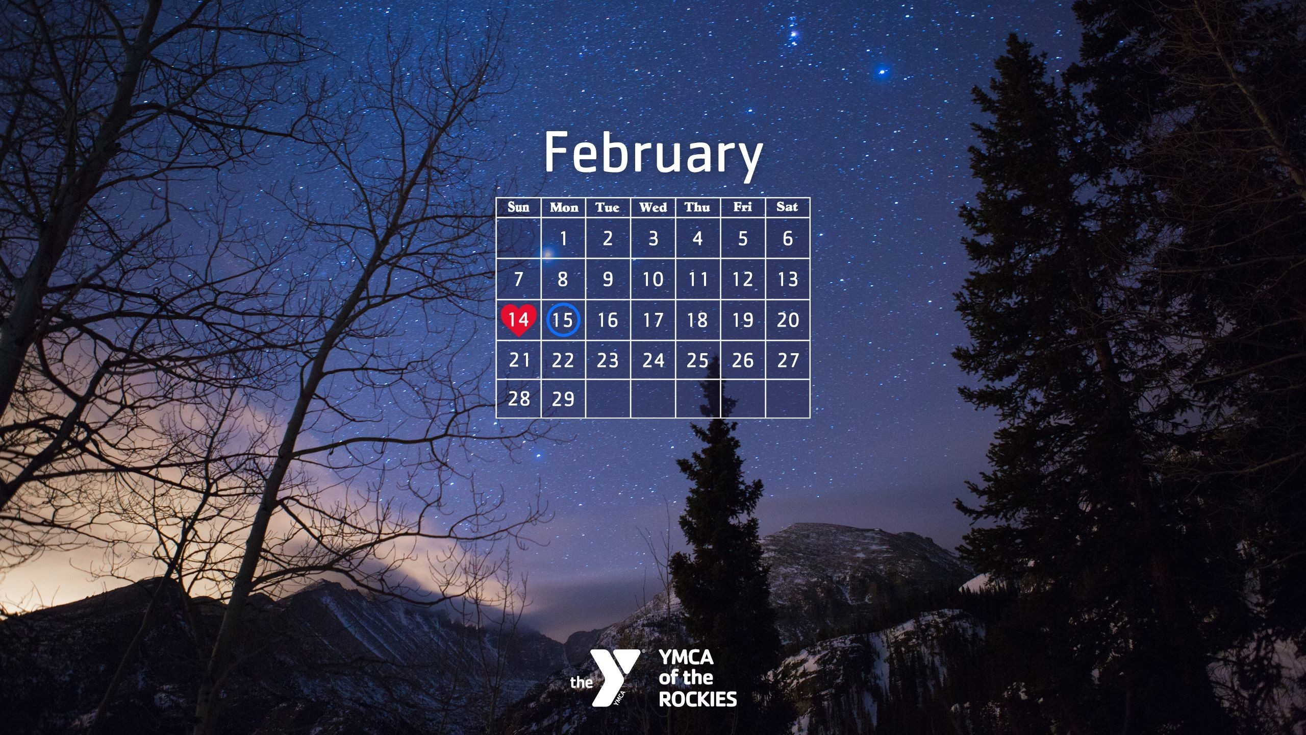 Desktop Wallpapers Calendar February 2018 ·① WallpaperTag