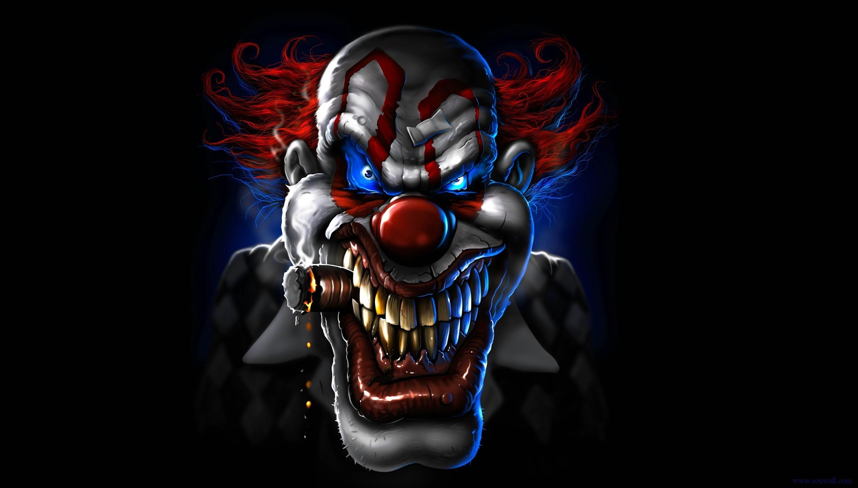 Creepy clown wallpaper wallpapertag - Circus joker wallpaper ...