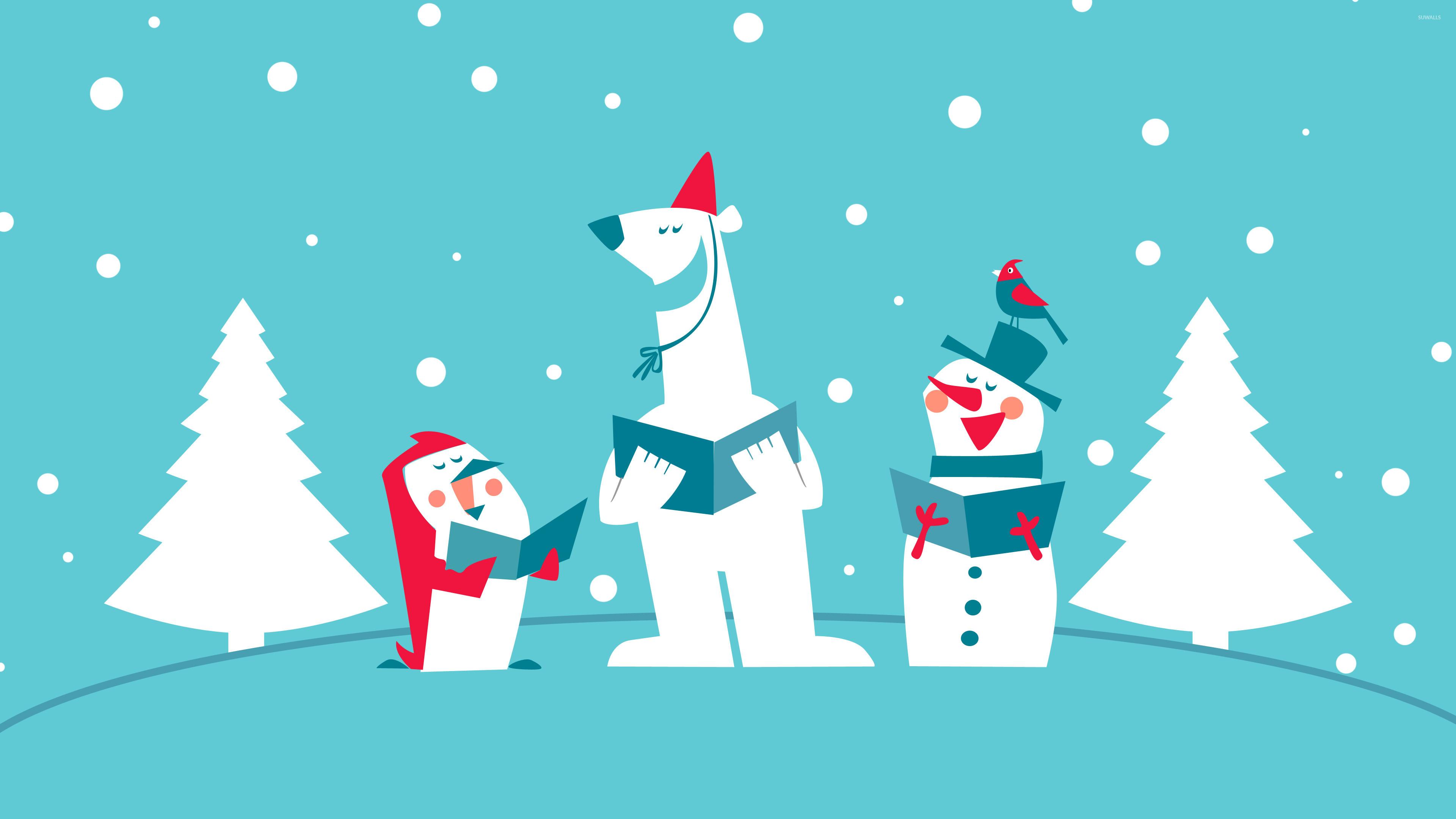 funny - Funny Christmas Wallpaper