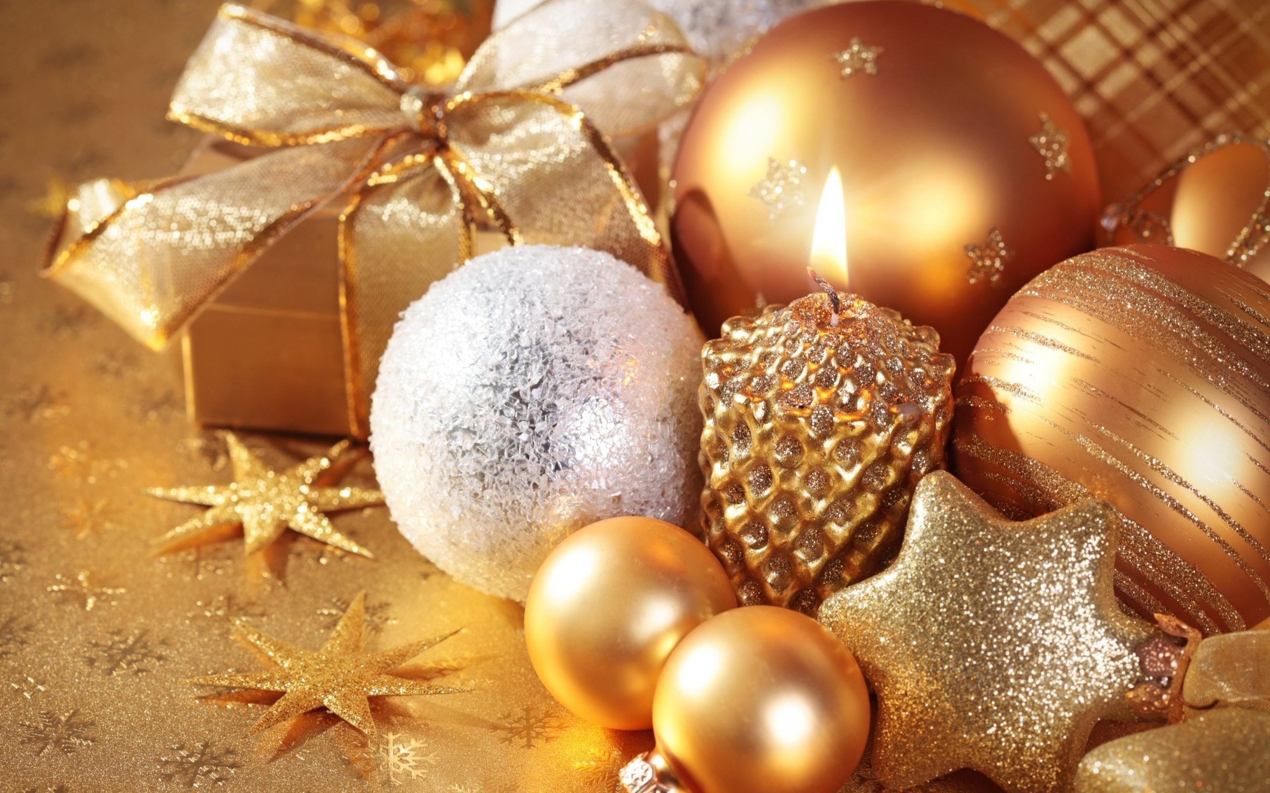 2560x1600 beautiful christmas ornaments wallpaper 8571 download download - Beautiful Christmas Ornaments