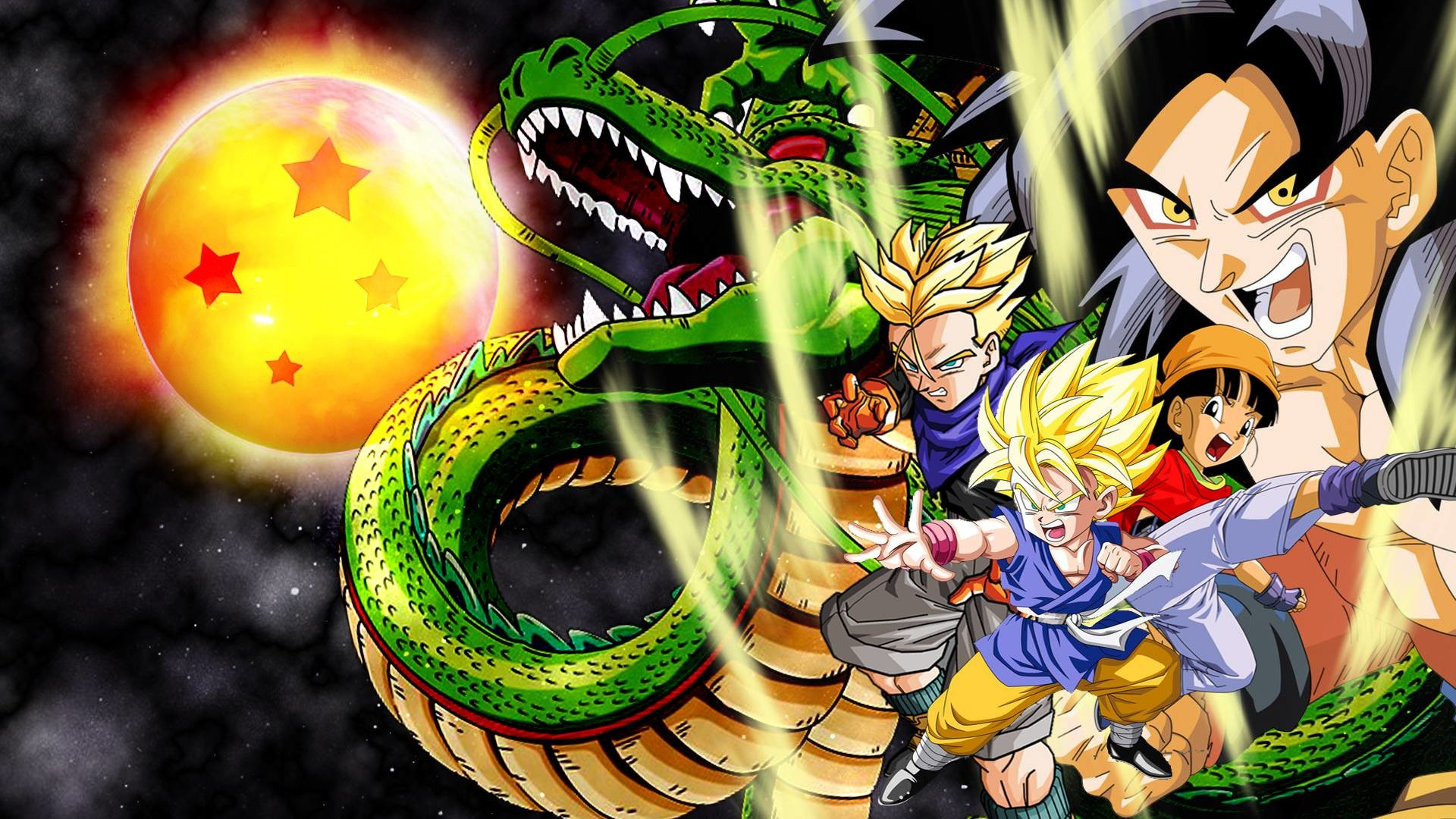 Dragon Ball Gt Hd Wallpapers Wallpapertag