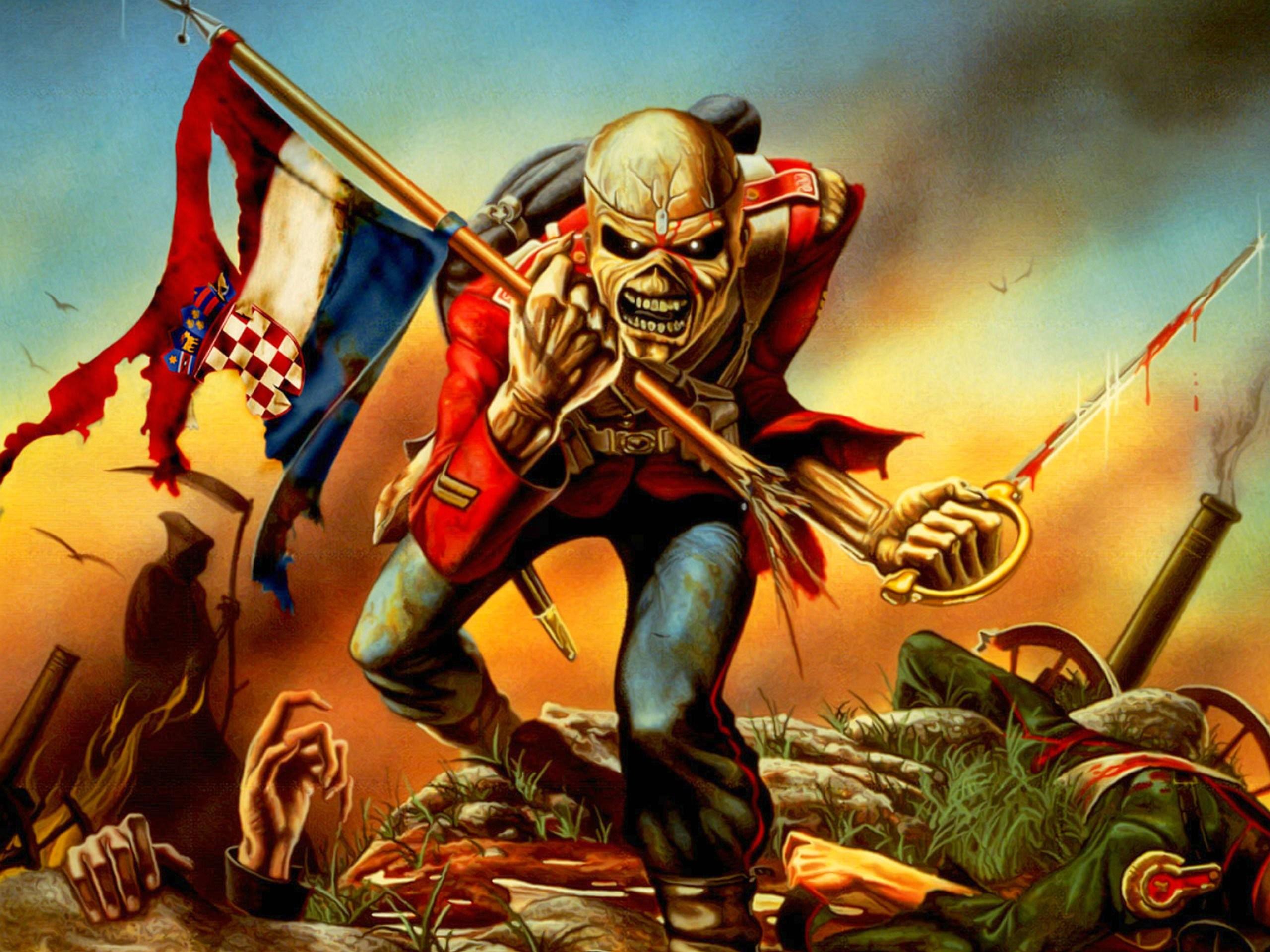 Iron Maiden Eddie Wallpaper ·① WallpaperTag