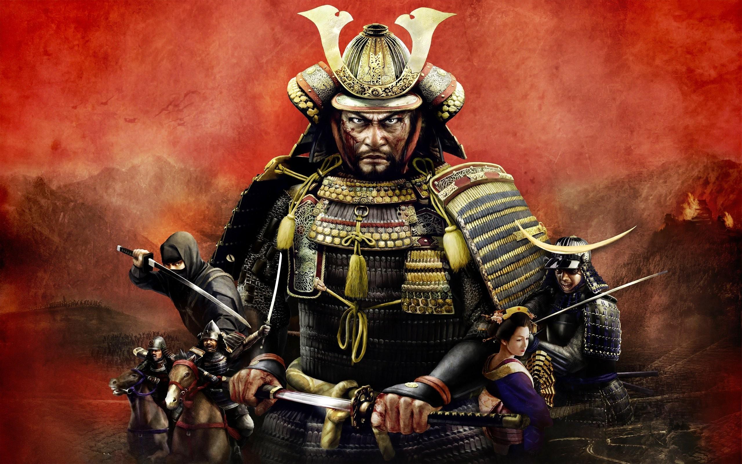 Samurai Warrior Wallpaper HD ·① WallpaperTag