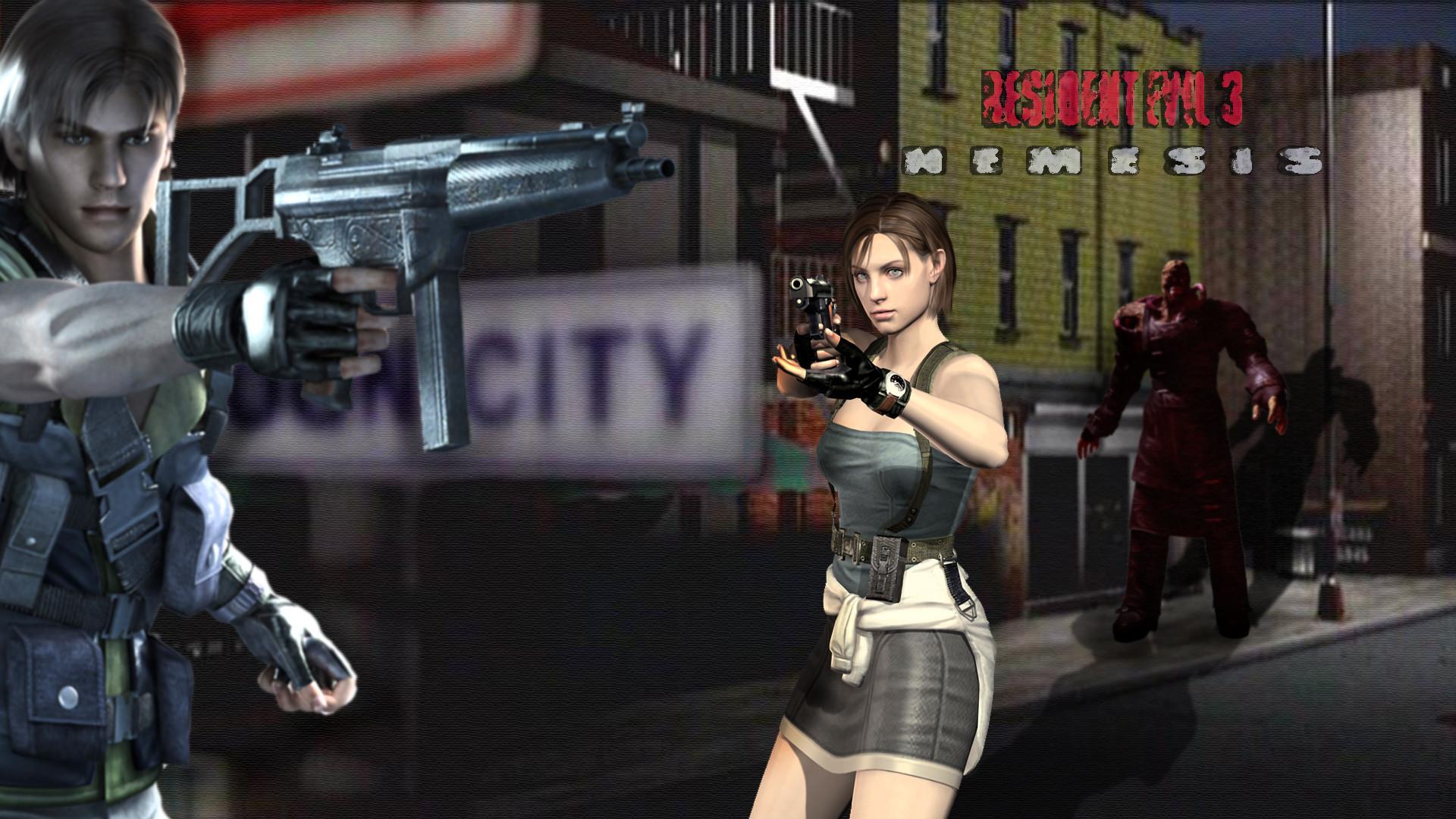 Resident Evil 3 Nemesis Wallpapers Wallpapertag