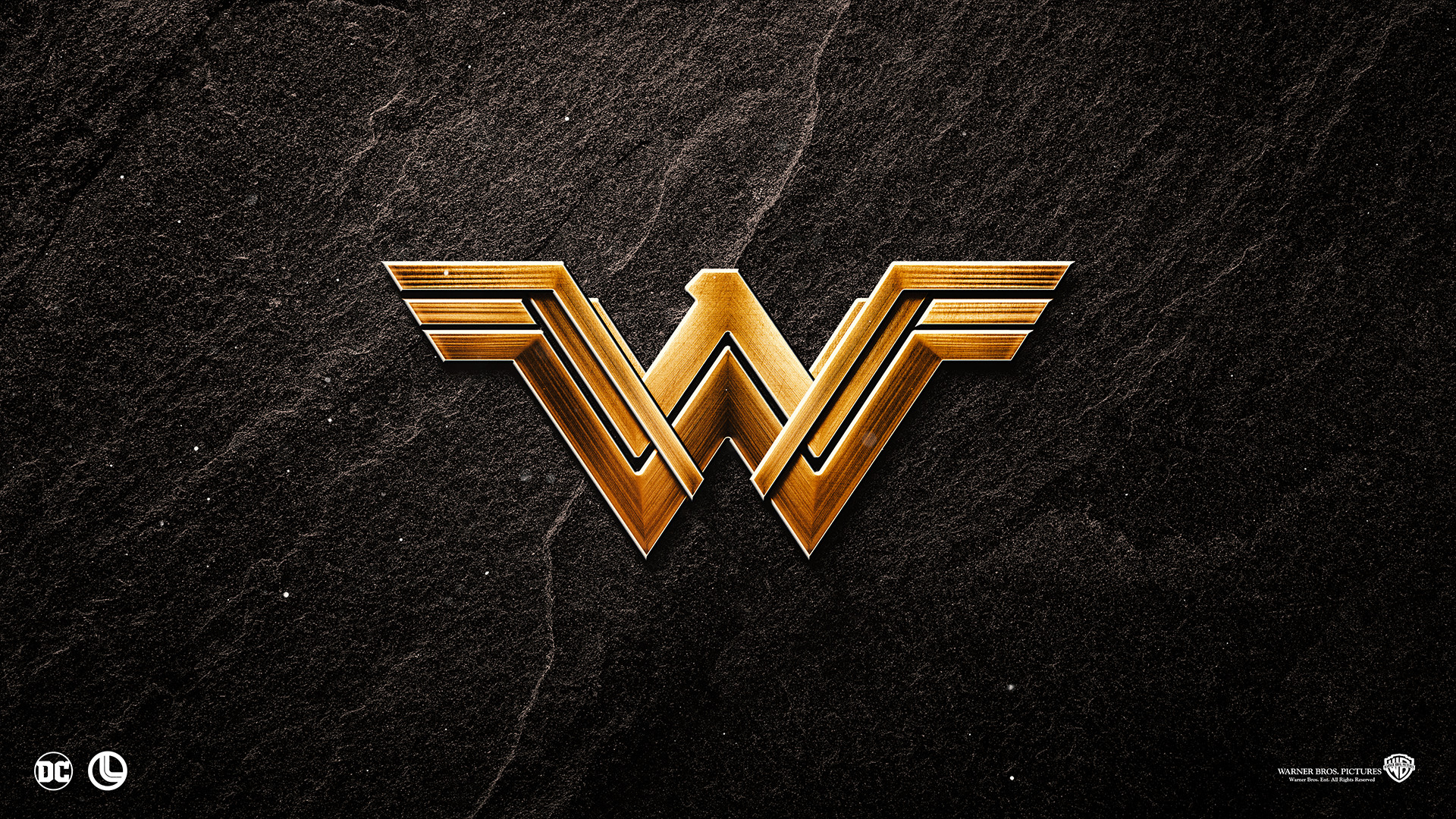 Wonder Woman Logo Wallpaper