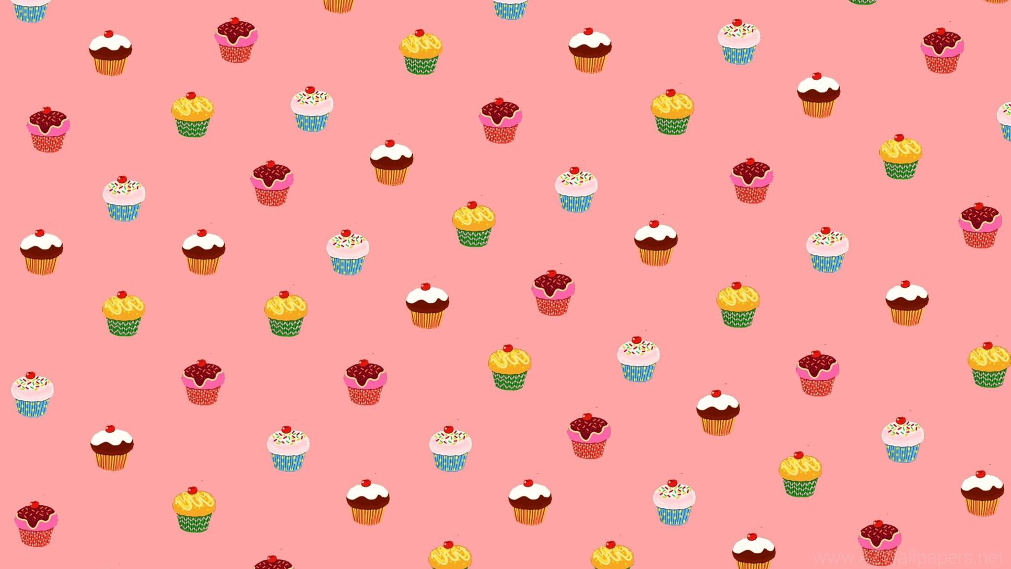 Cute CuPCake Background ·①