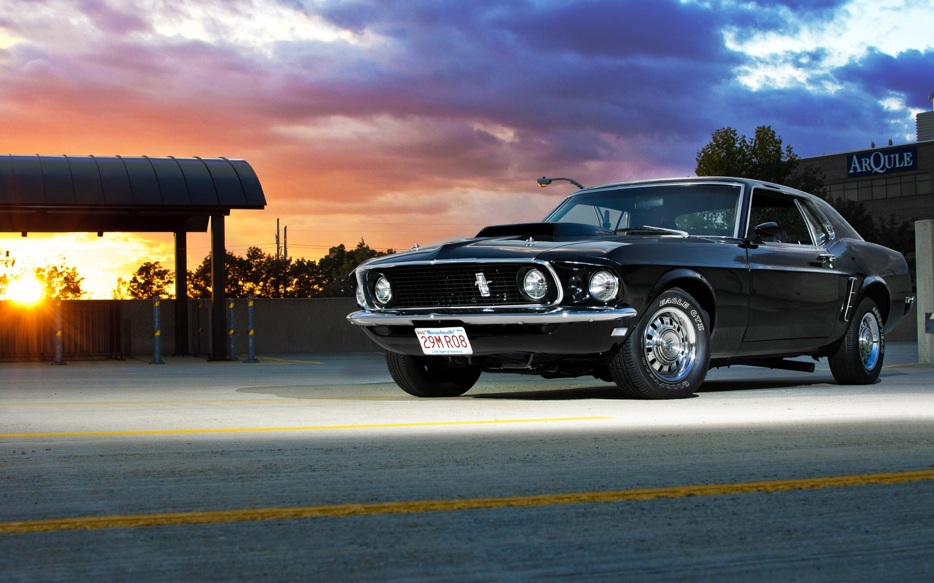 Old Muscle Car Wallpaper Wallpapertag