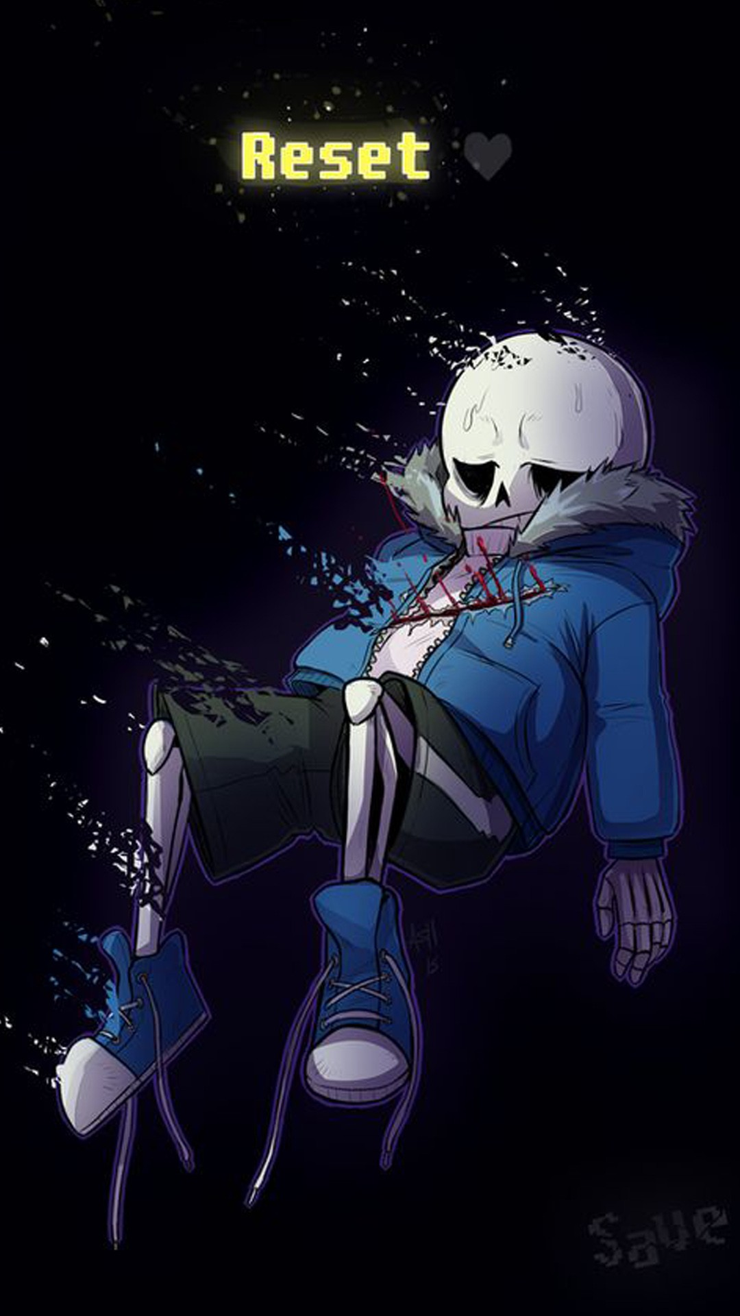 Undertale Sans wallpaper \u00b7\u2460 Download free cool full HD wallpapers for desktop computers and