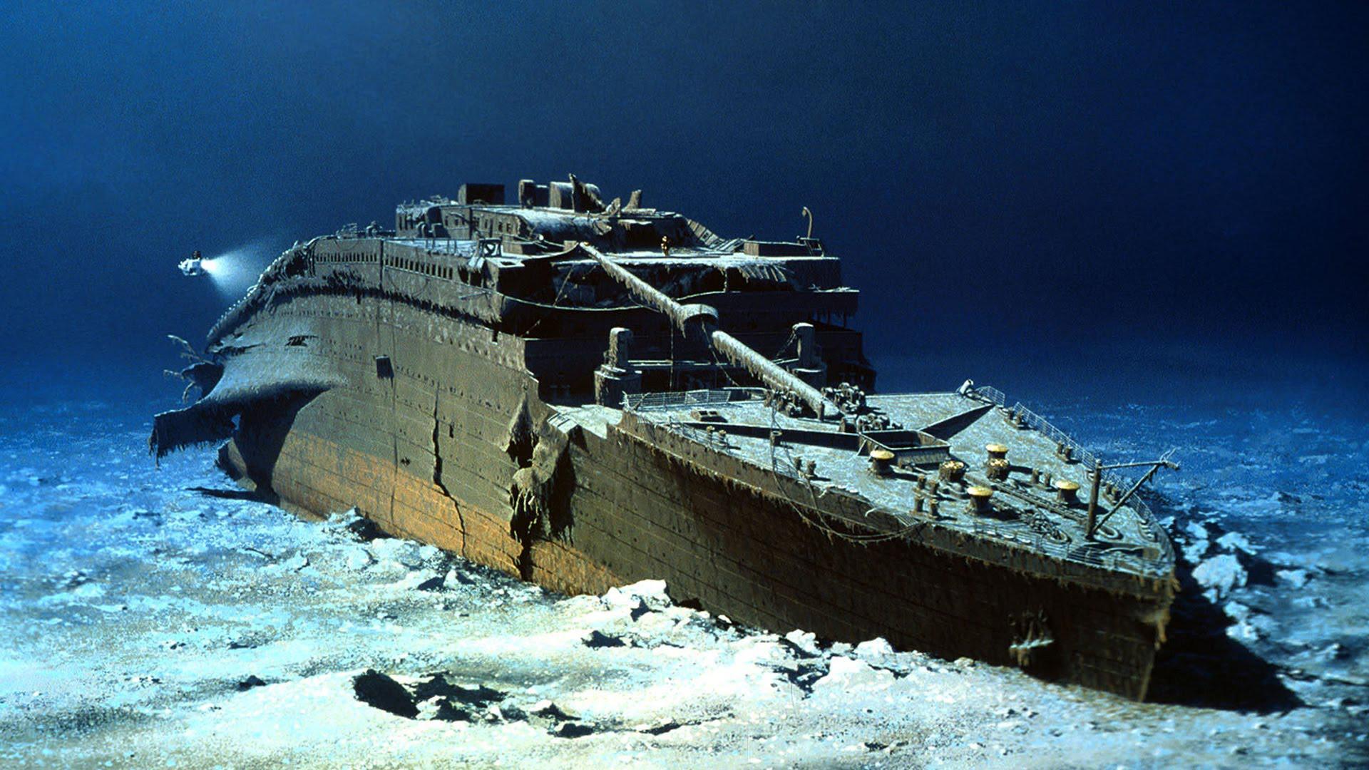 Titanic Sinking Wallpapers ①